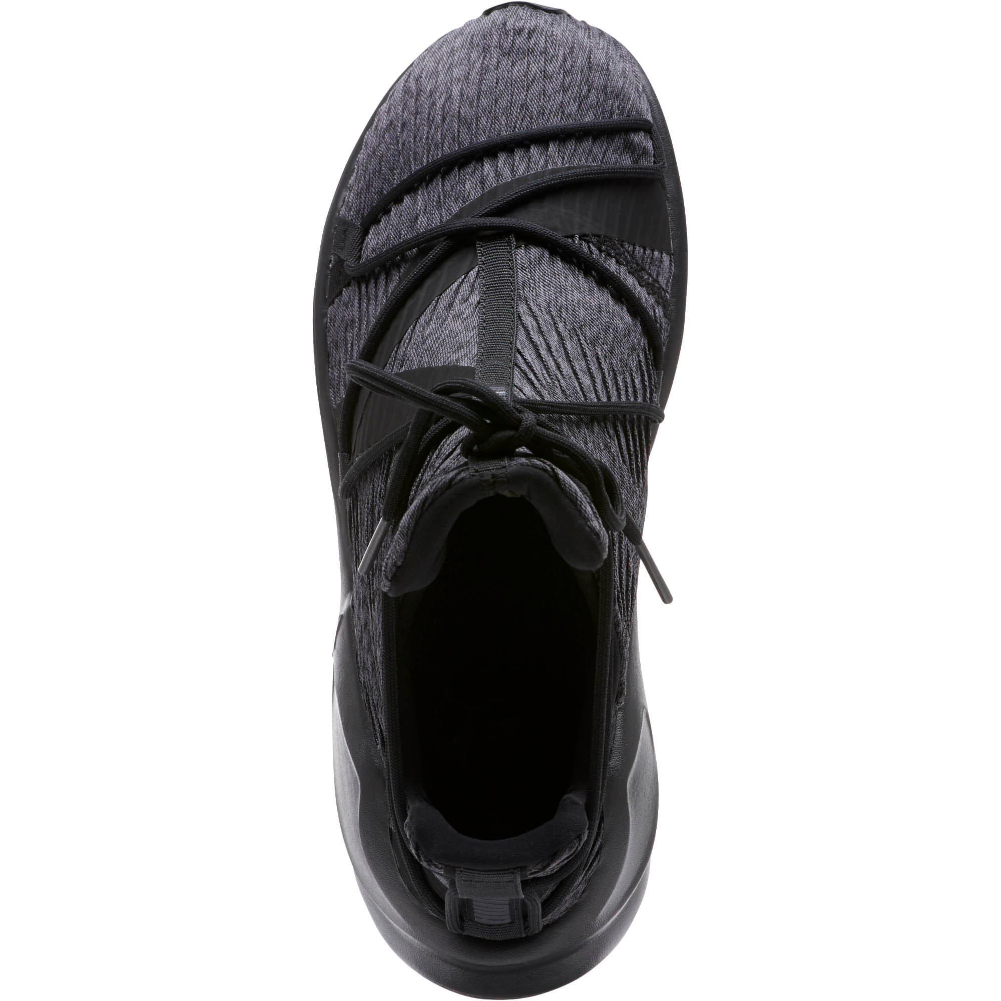 Thumbnail 5 of Fierce Rope Pleats Women's Sneakers, Puma Black-Puma Black, medium