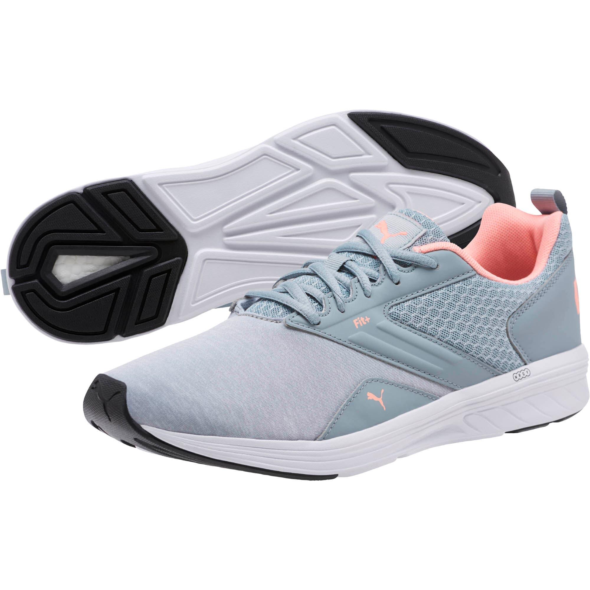 Miniatura 2 de Zapatos para correr NRGY Comet, Quarry-Soft Fluo Peach, mediano