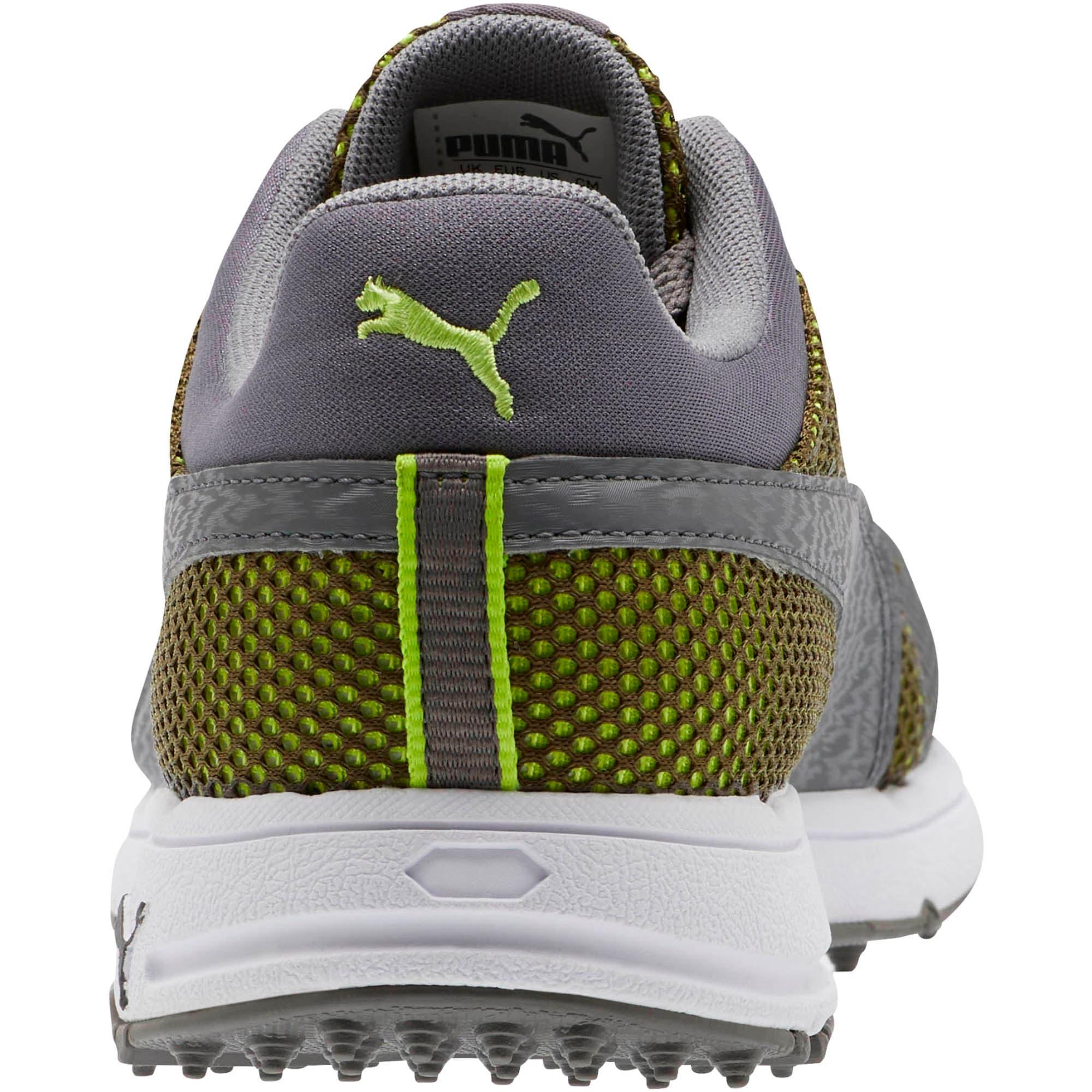 Thumbnail 3 of GRIP Sport Tech Men's Golf Shoes, QUIET SHADE-QUIET SHADE-Lime, medium