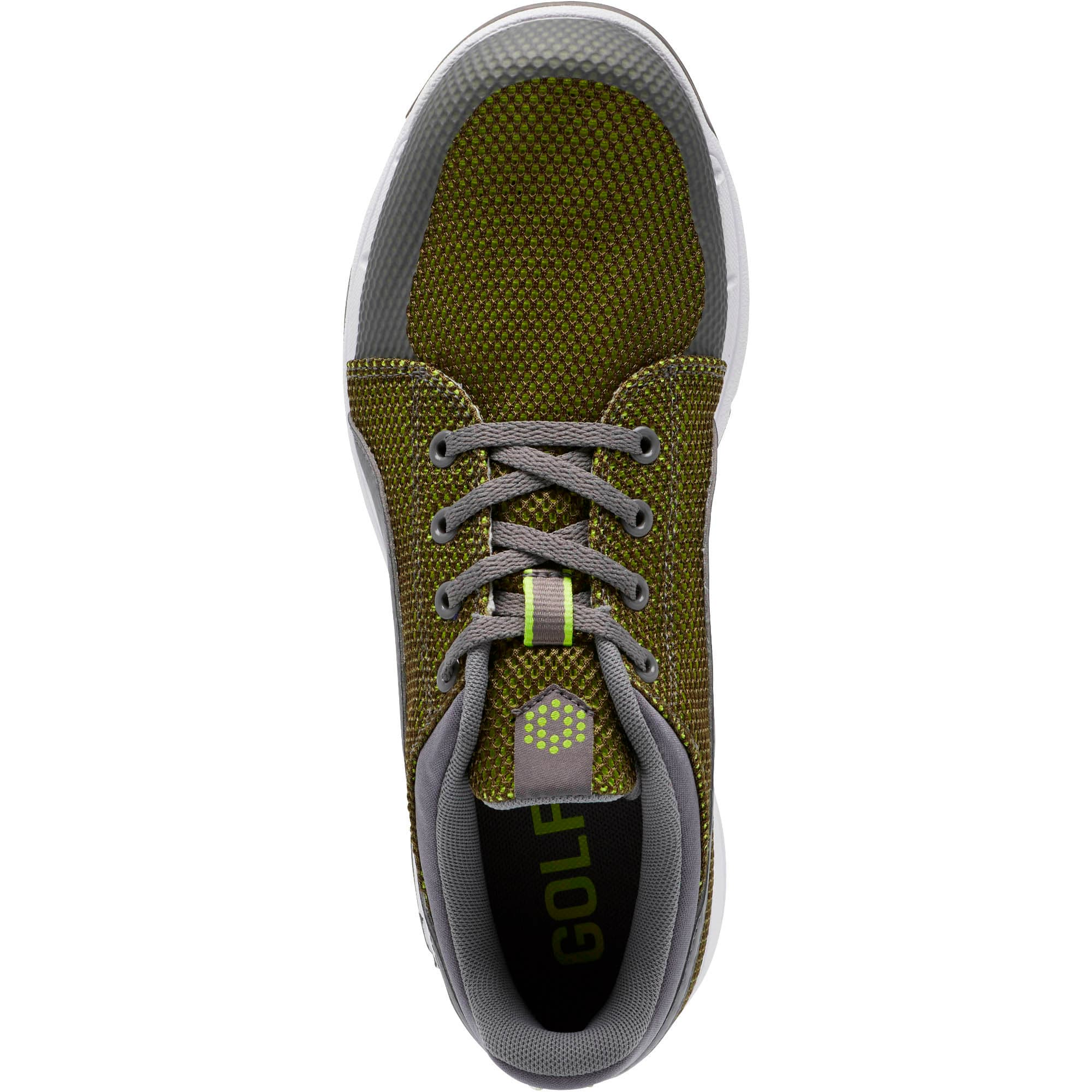 Thumbnail 5 of GRIP Sport Tech Men's Golf Shoes, QUIET SHADE-QUIET SHADE-Lime, medium