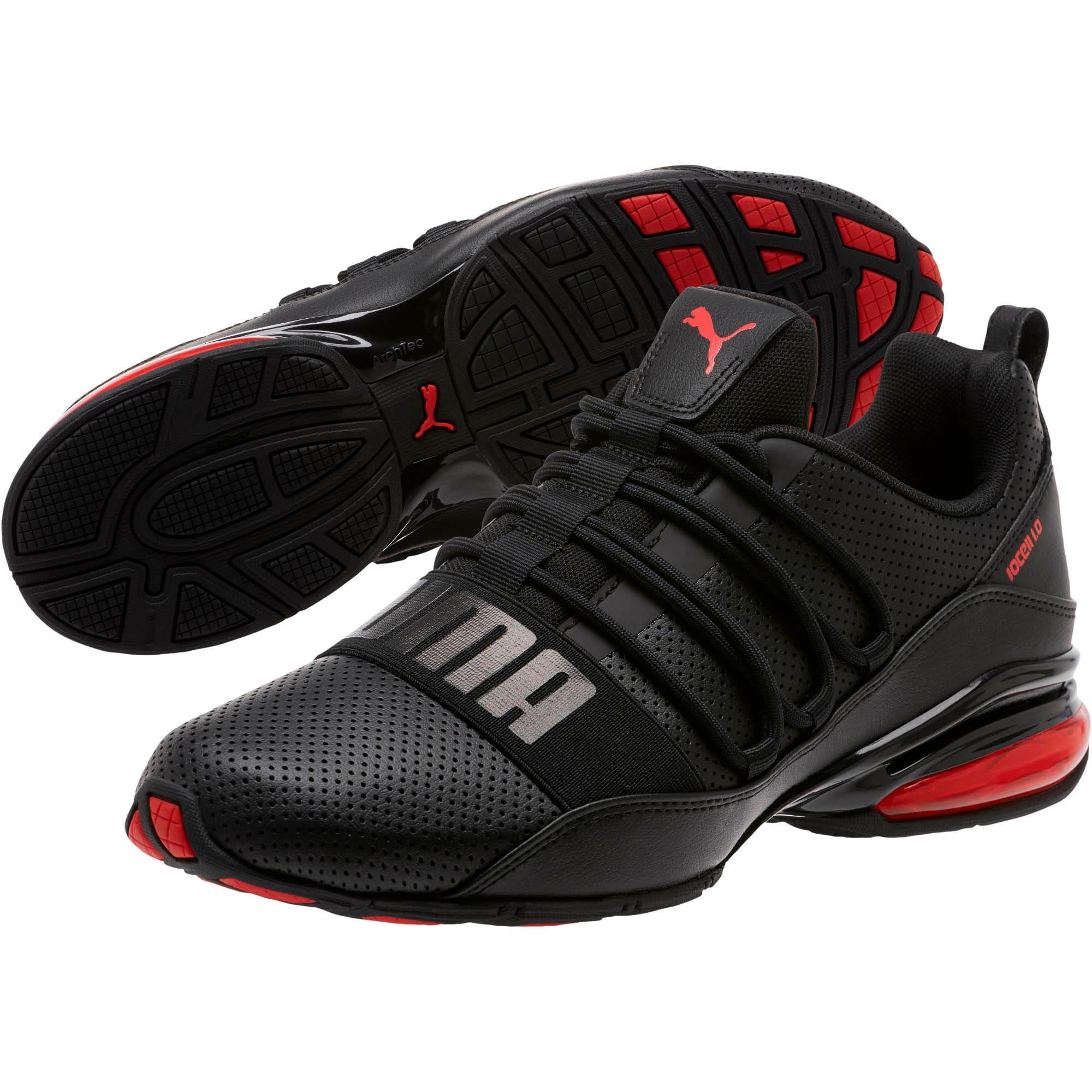 Miniatura 2 de Zapatos para correr Cell Regulate para hombre, Puma Black-High Risk Red, mediano