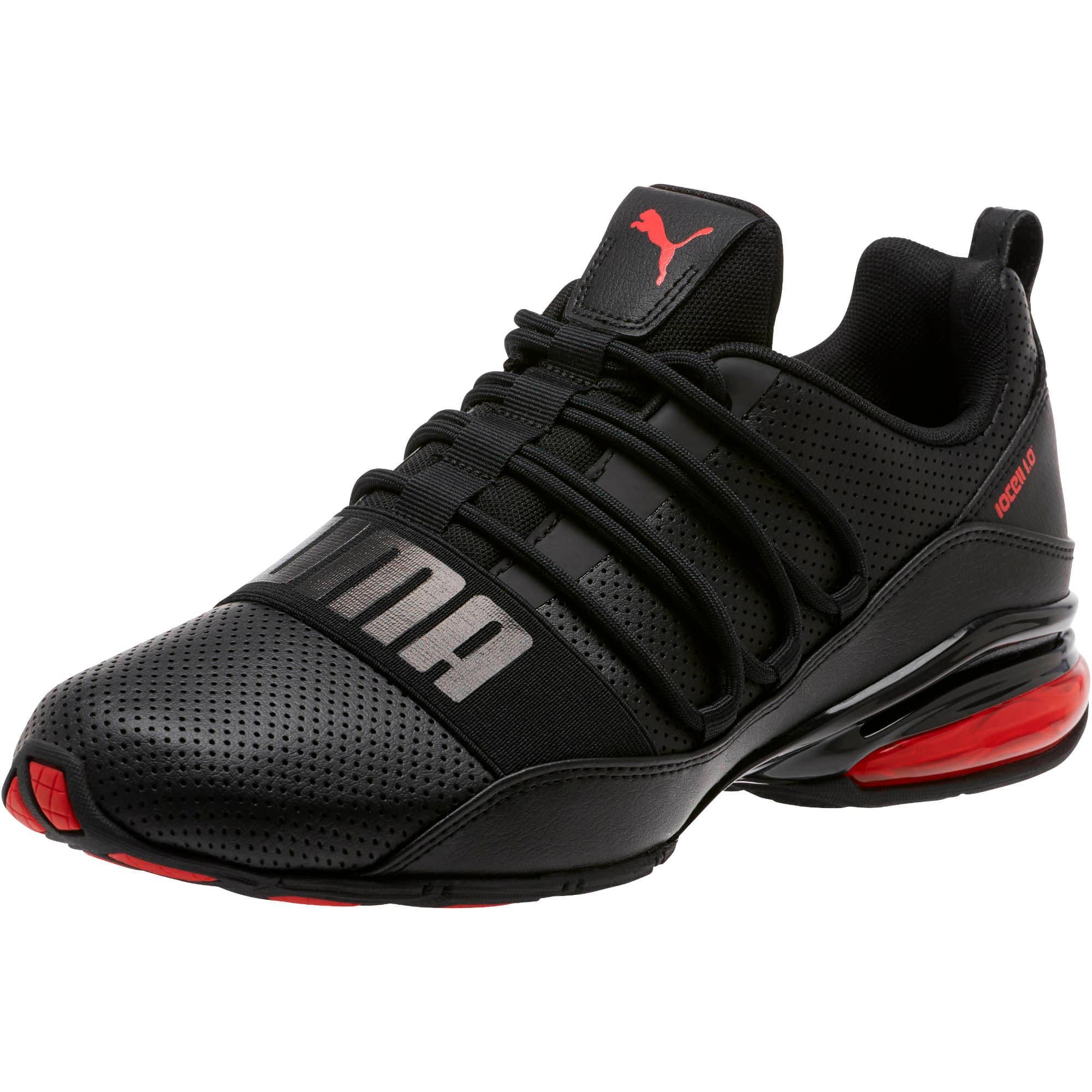 Miniatura 1 de Zapatos para correr Cell Regulate para hombre, Puma Black-High Risk Red, mediano