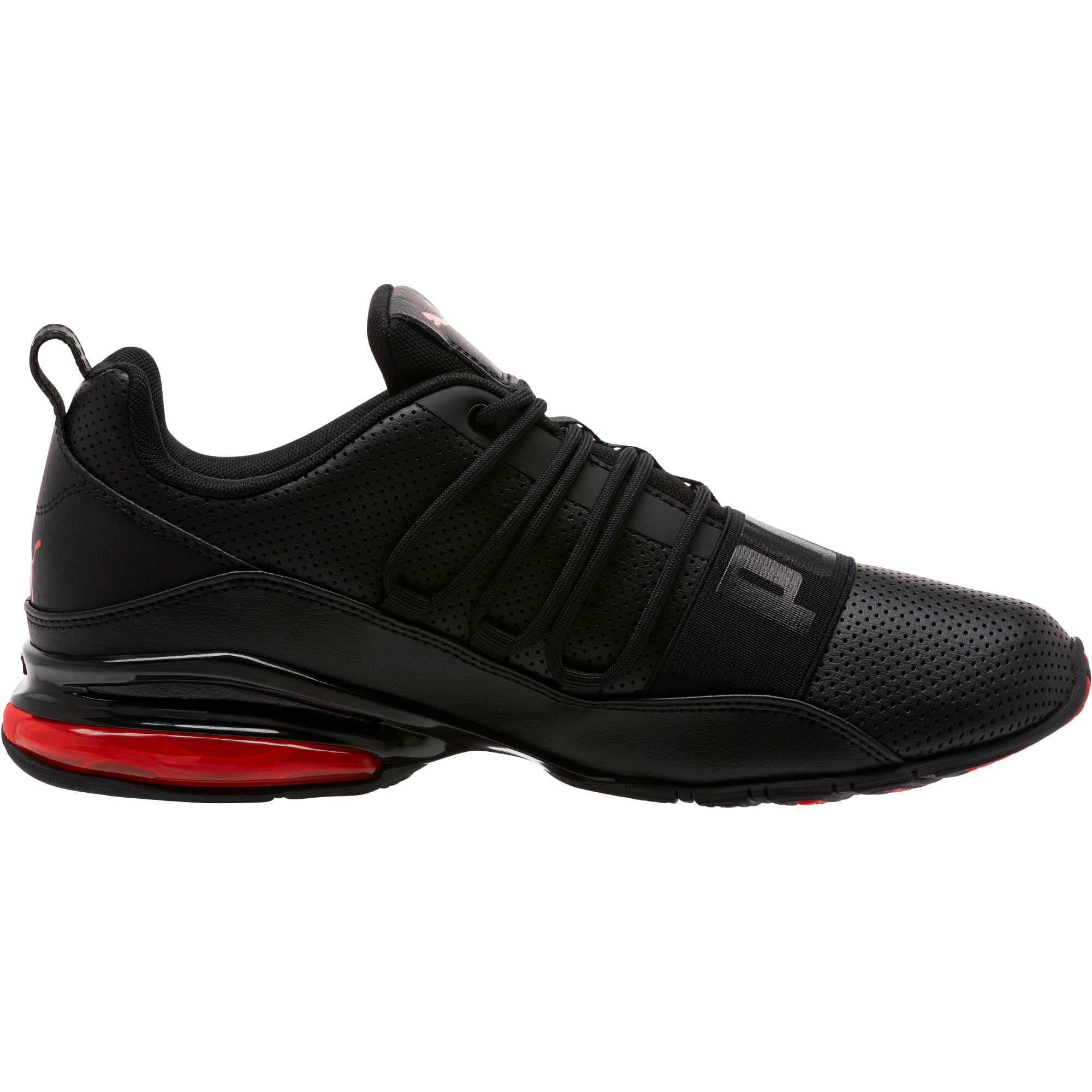 Miniatura 3 de Zapatos para correr Cell Regulate para hombre, Puma Black-High Risk Red, mediano