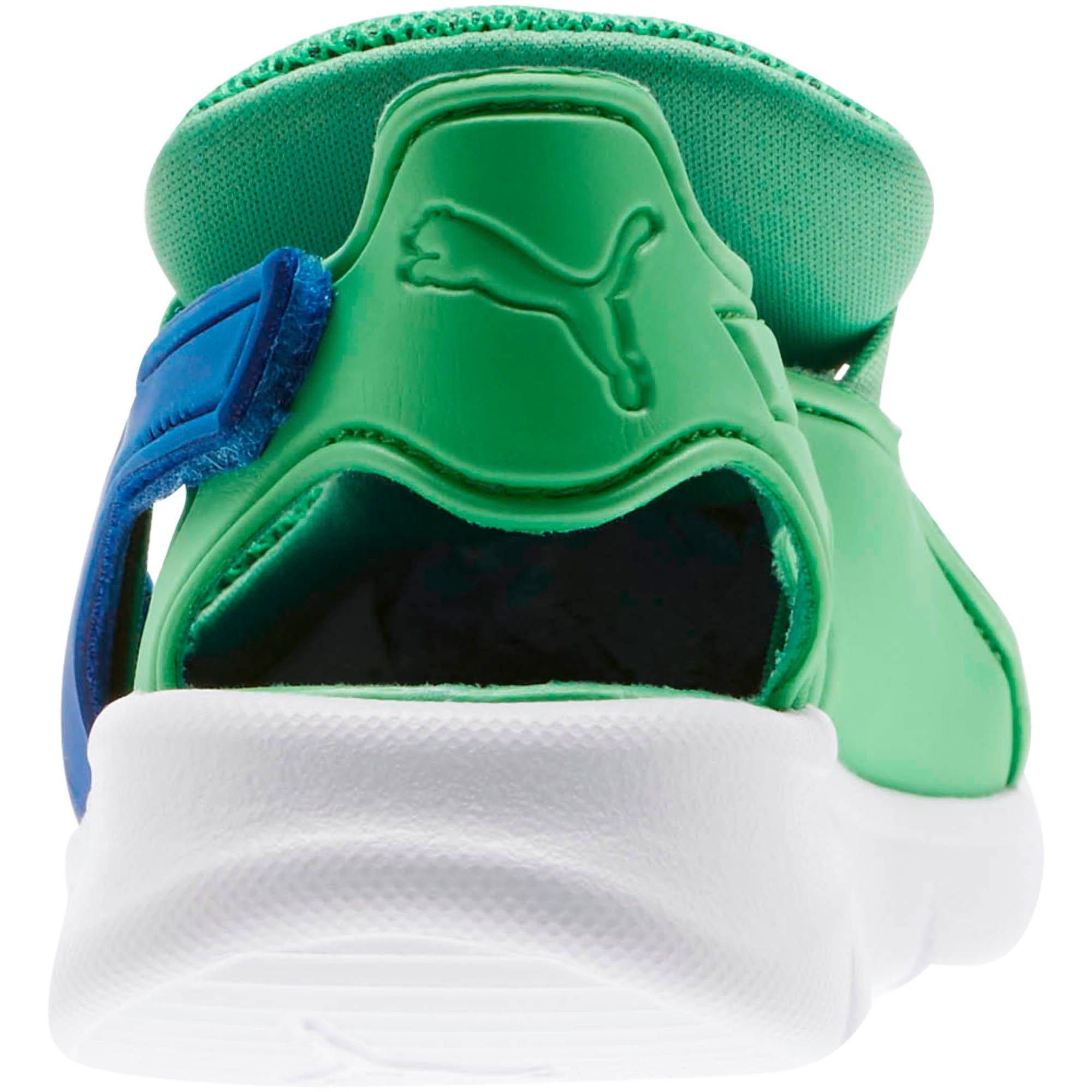 Thumbnail 4 of Bao 3 Open Little Kids' Shoes, Surf The Web-Irish Green, medium