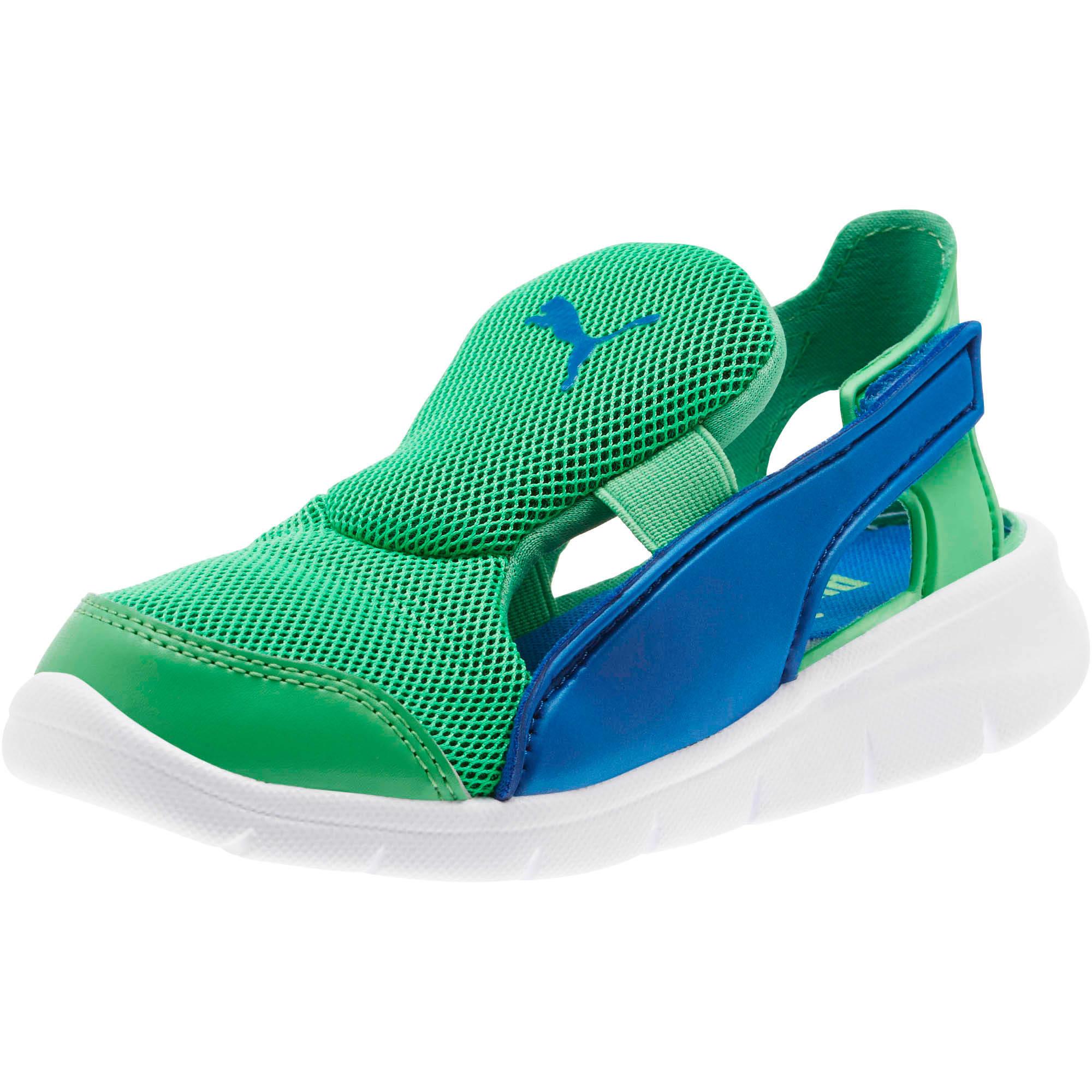 Thumbnail 1 of Bao 3 Open Little Kids' Shoes, Surf The Web-Irish Green, medium