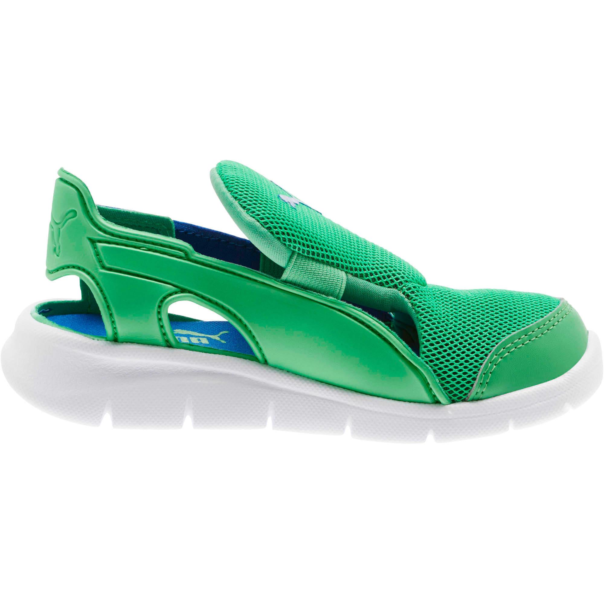 Thumbnail 3 of Bao 3 Open Little Kids' Shoes, Surf The Web-Irish Green, medium