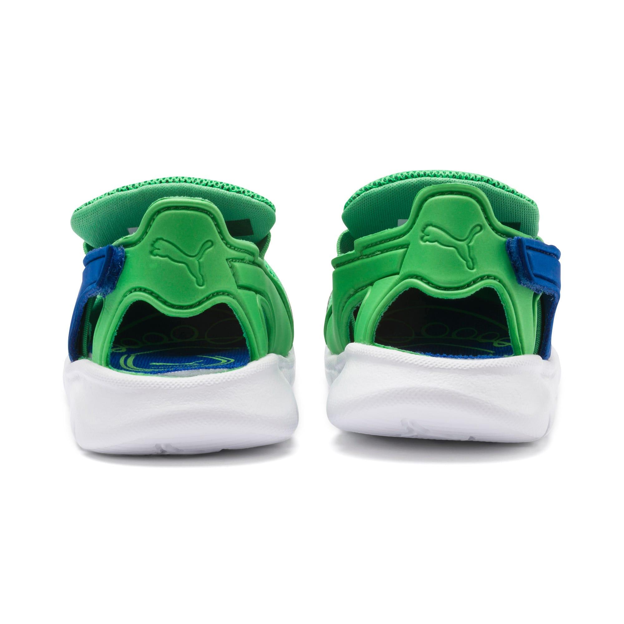Thumbnail 4 of PUMA Bao 3 Open Toddler Shoes, Surf The Web-Irish Green, medium