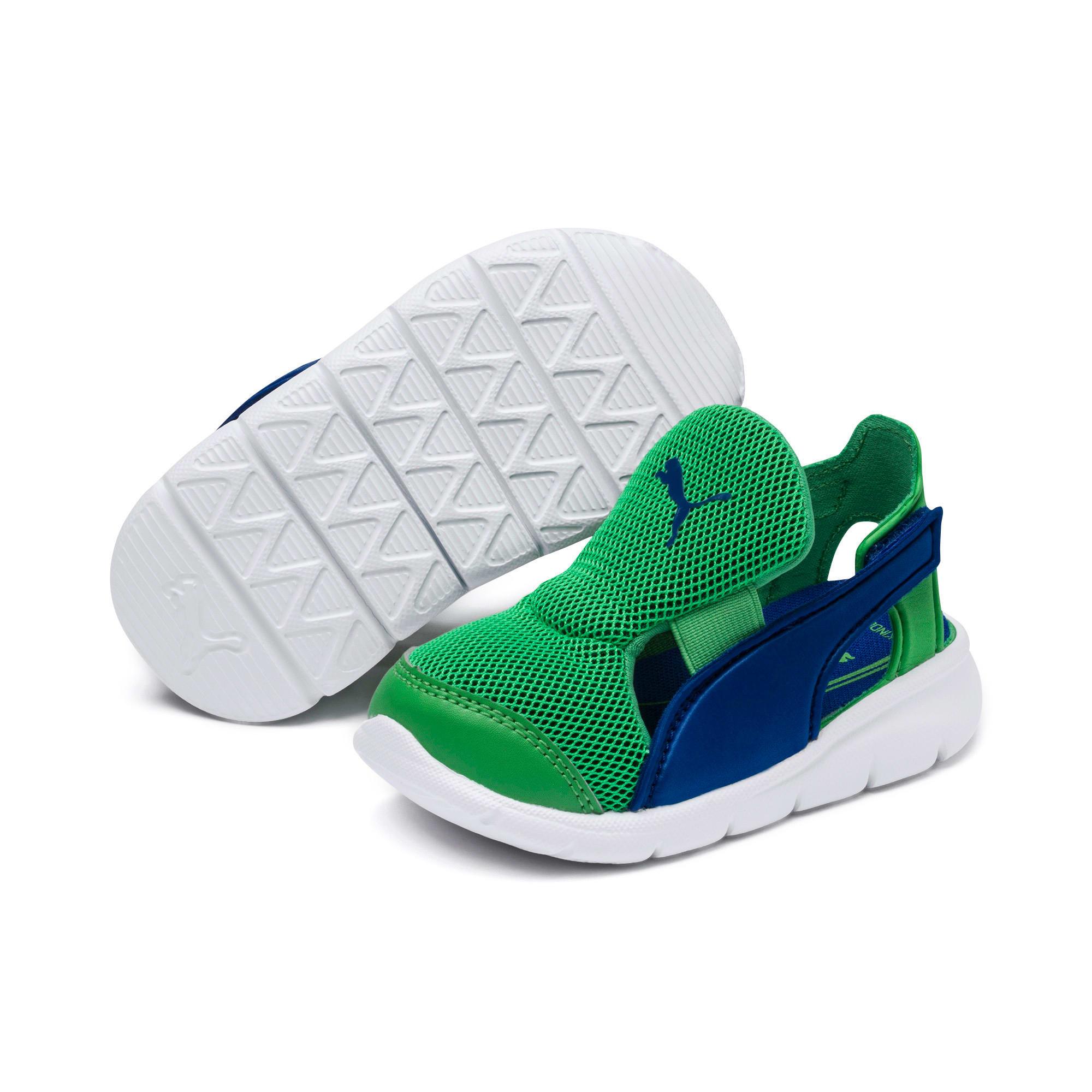 Thumbnail 2 of PUMA Bao 3 Open Toddler Shoes, Surf The Web-Irish Green, medium