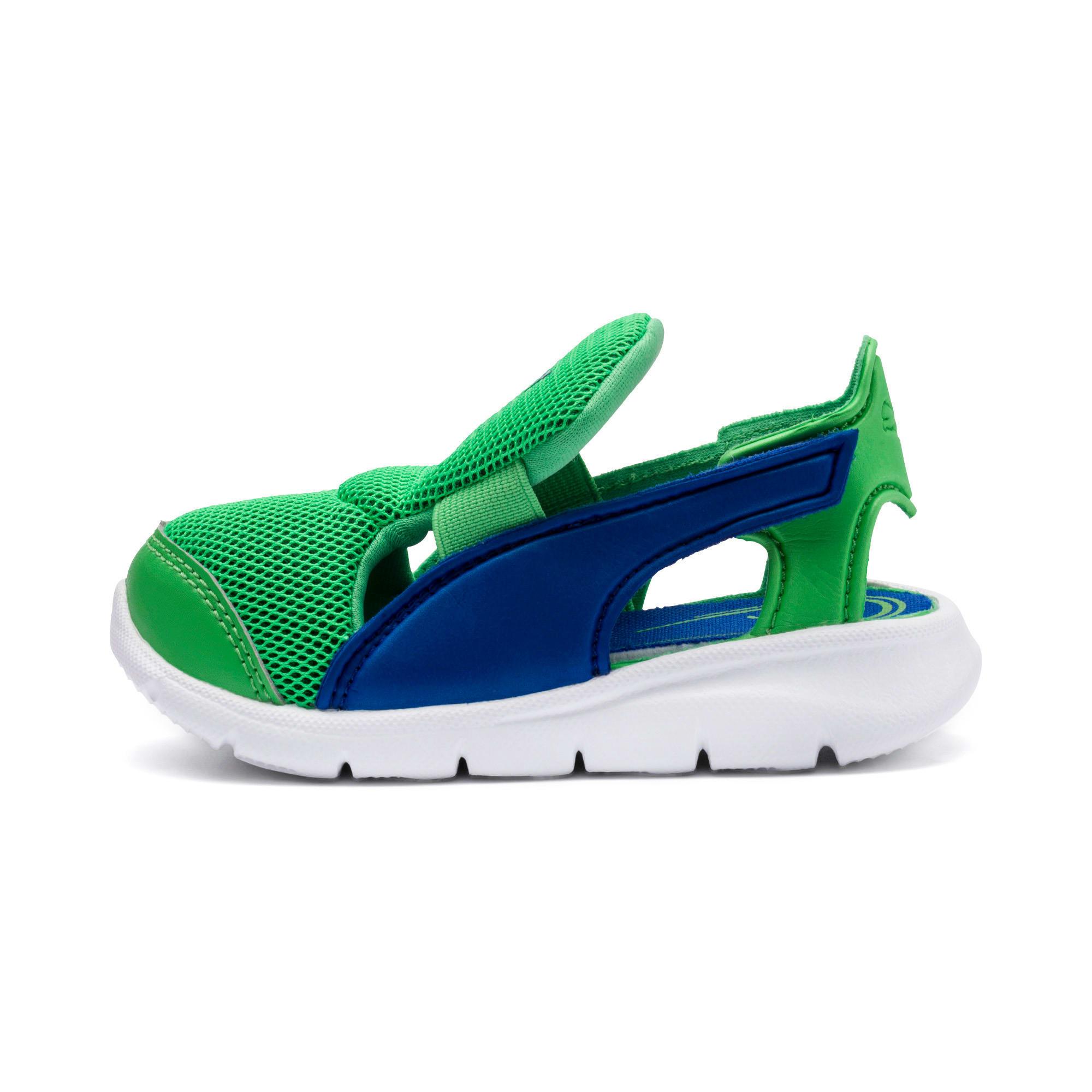 Thumbnail 1 of PUMA Bao 3 Open Toddler Shoes, Surf The Web-Irish Green, medium
