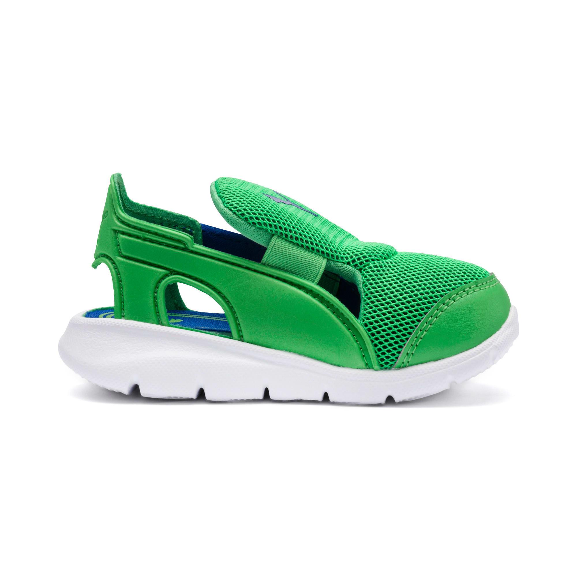 Thumbnail 5 of PUMA Bao 3 Open Toddler Shoes, Surf The Web-Irish Green, medium