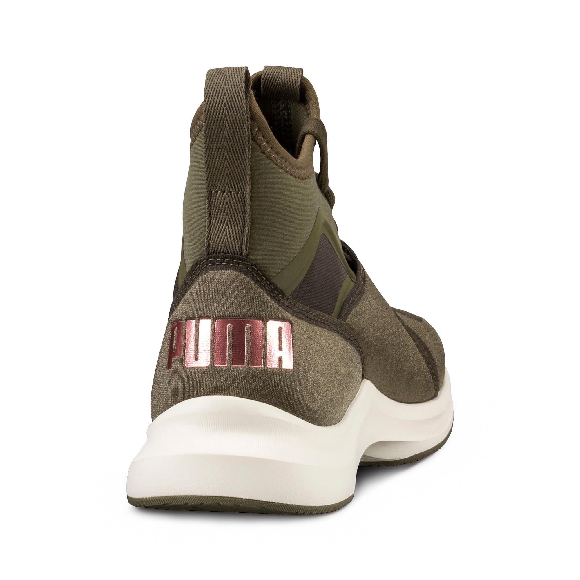 Thumbnail 4 of Phenom Women's Training Shoes, Olive Night-Whisper White, medium