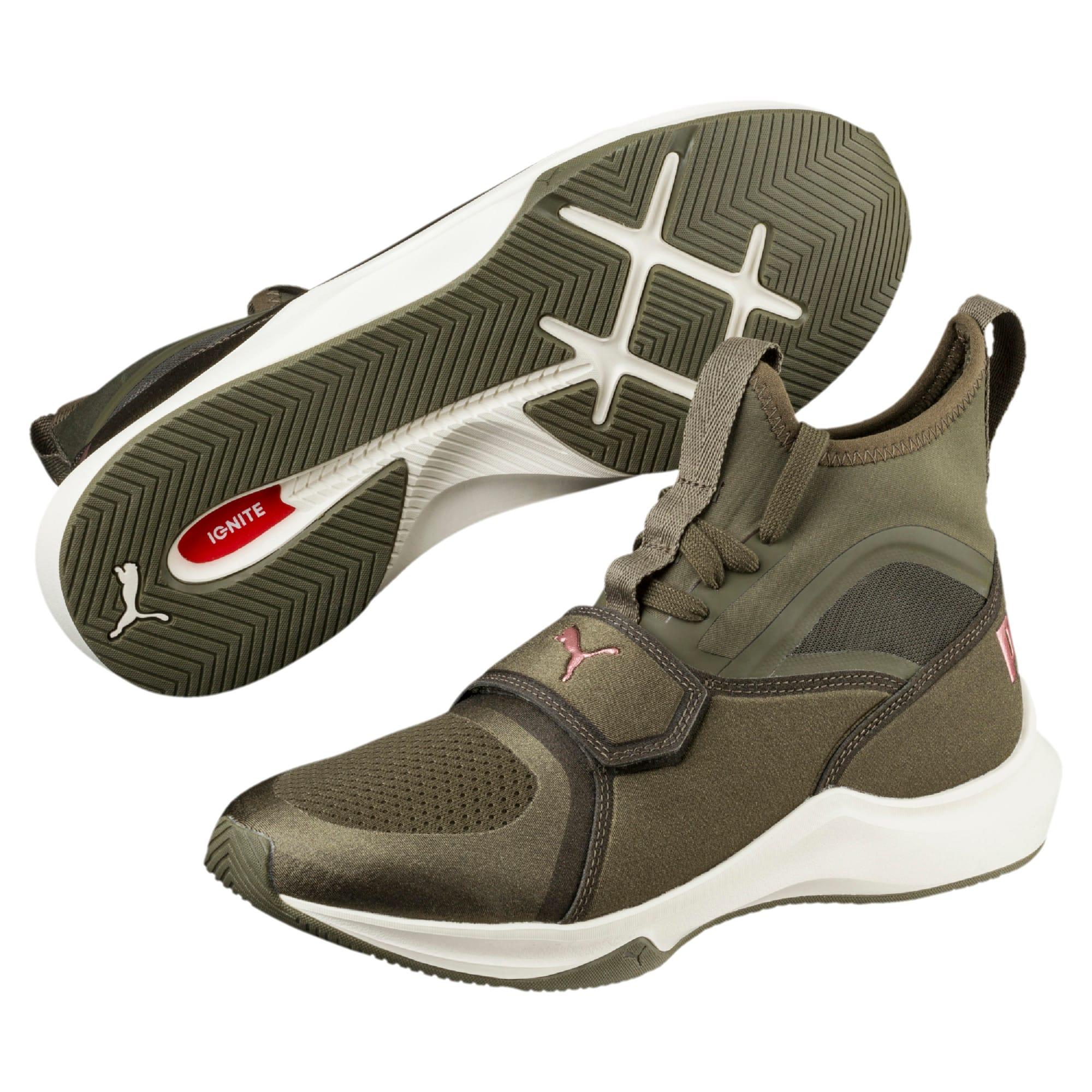 Thumbnail 2 of Phenom Women's Training Shoes, Olive Night-Whisper White, medium