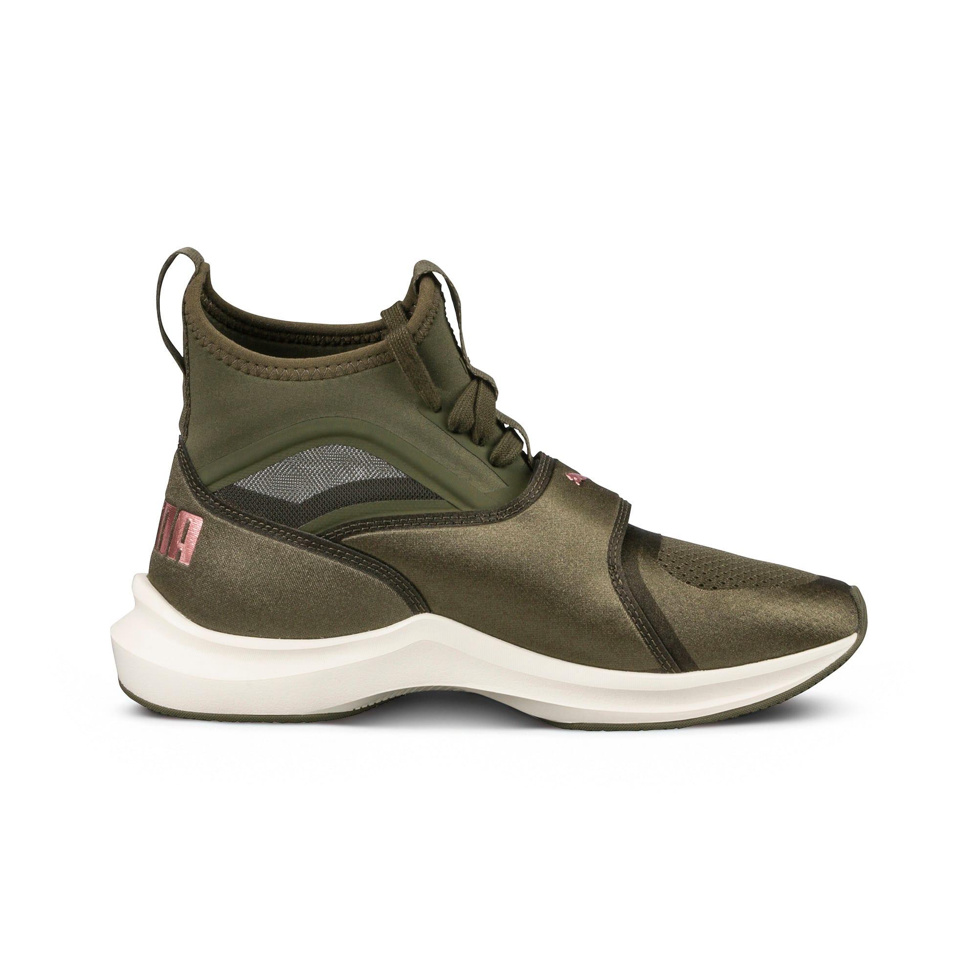Thumbnail 3 of Phenom Women's Training Shoes, Olive Night-Whisper White, medium