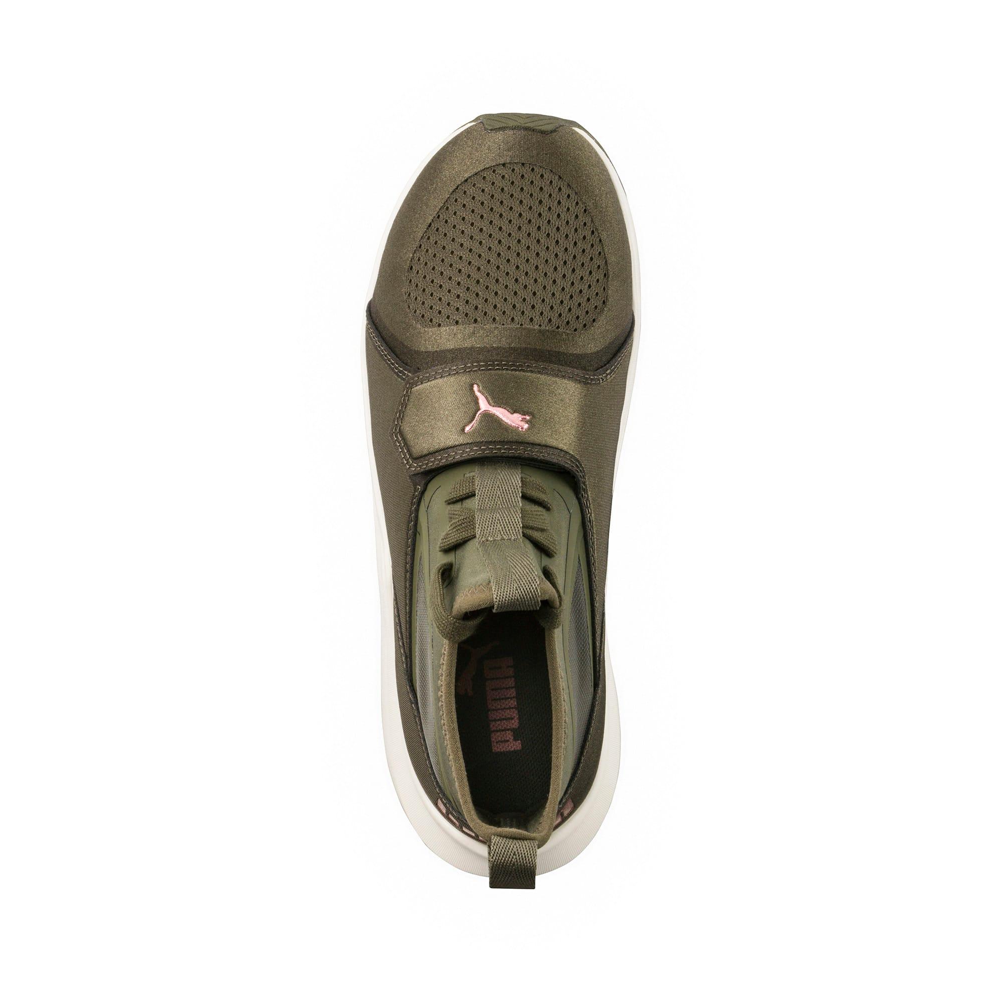 Thumbnail 5 of Phenom Women's Training Shoes, Olive Night-Whisper White, medium