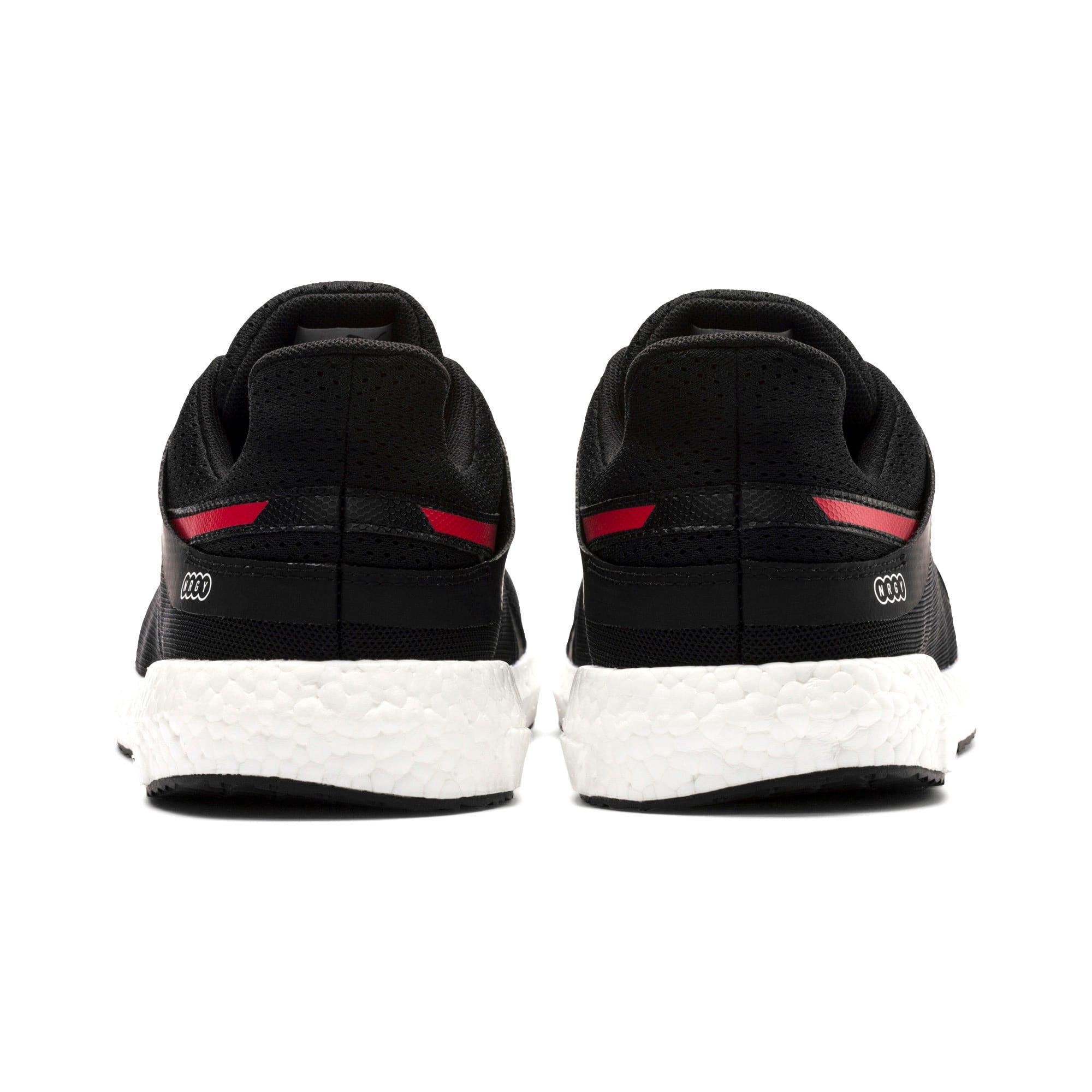 Thumbnail 4 of Mega NRGY Turbo 2 Men's Running Shoes, Puma Black-Ribbon Red, medium