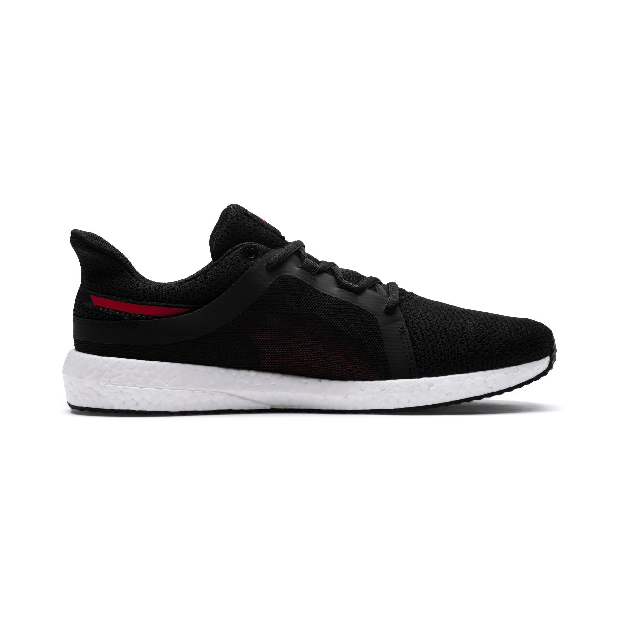 Thumbnail 5 of Mega NRGY Turbo 2 Men's Running Shoes, Puma Black-Ribbon Red, medium