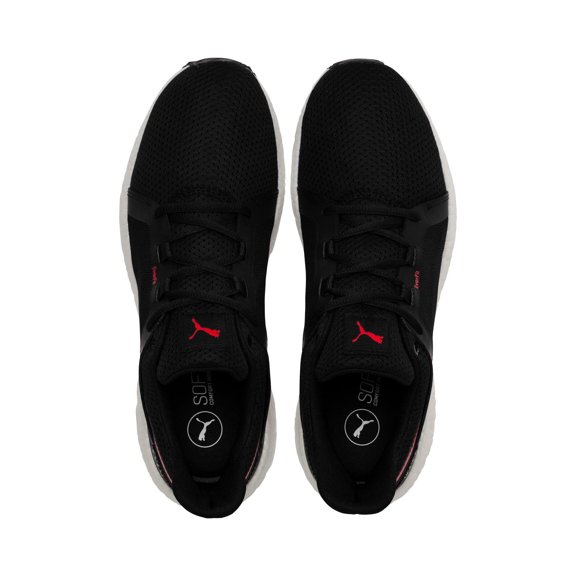 Thumbnail 6 of Mega NRGY Turbo 2 Men's Running Shoes, Puma Black-Ribbon Red, medium
