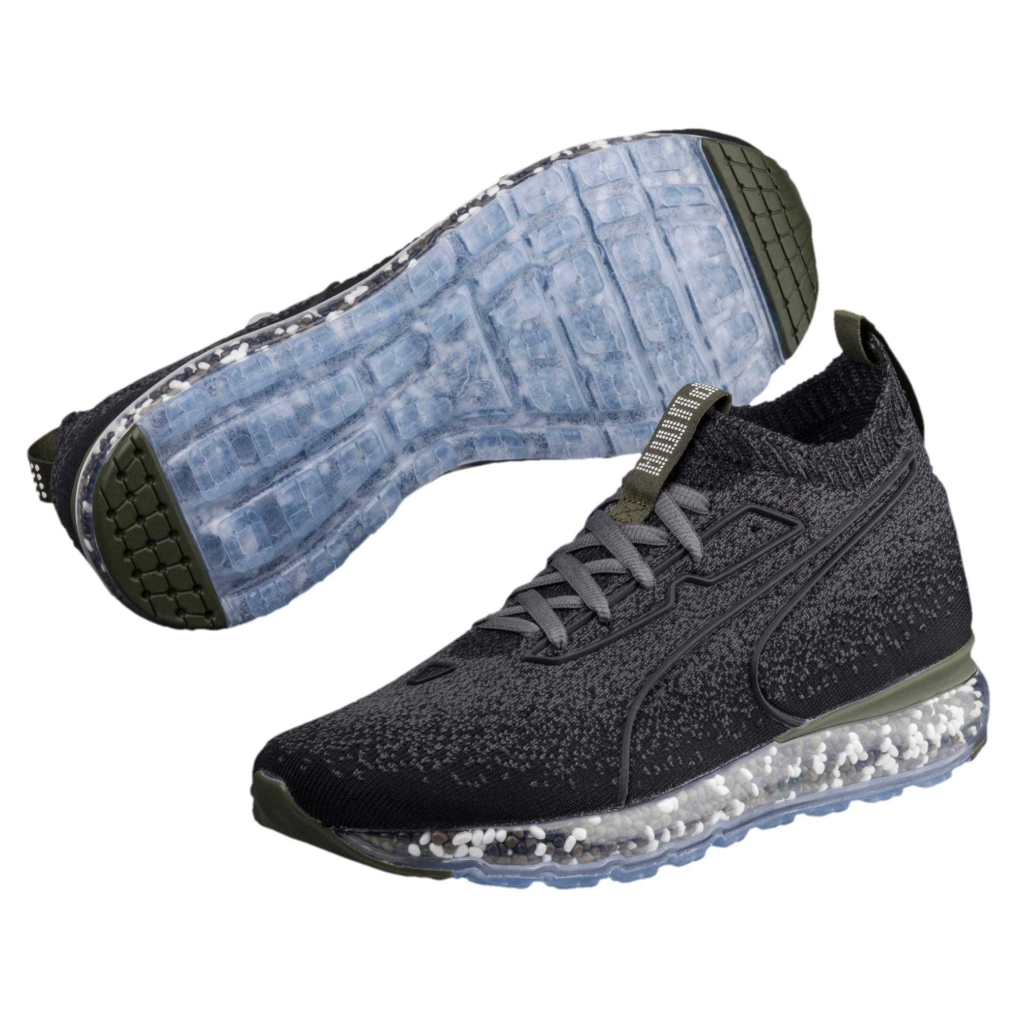 Thumbnail 2 of Jamming Women's Running Shoes, Puma Black-Forest Night, medium