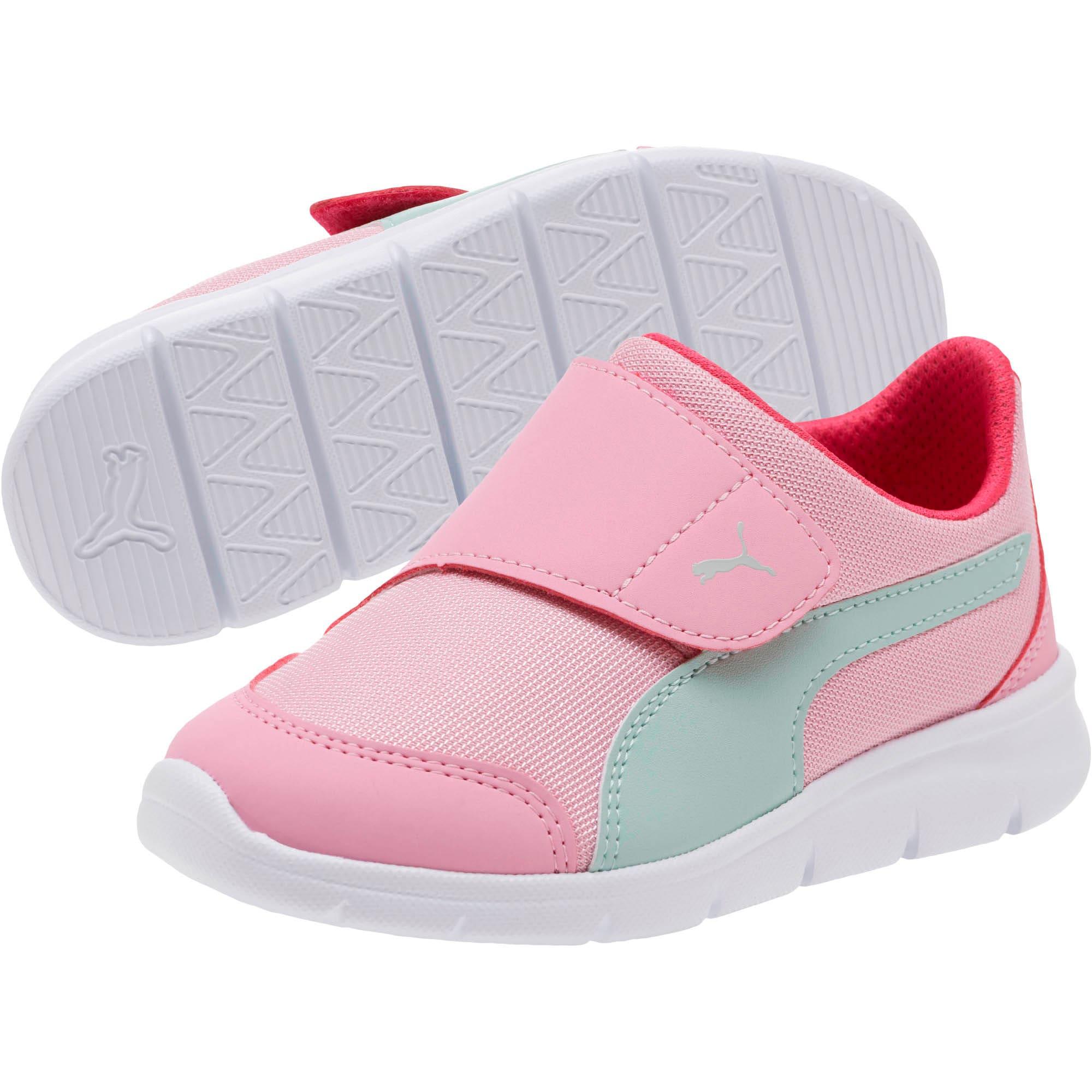 Thumbnail 2 of Bao 3 AC Little Kids' Shoes, Pale Pink-Fair Aqua-Purple, medium