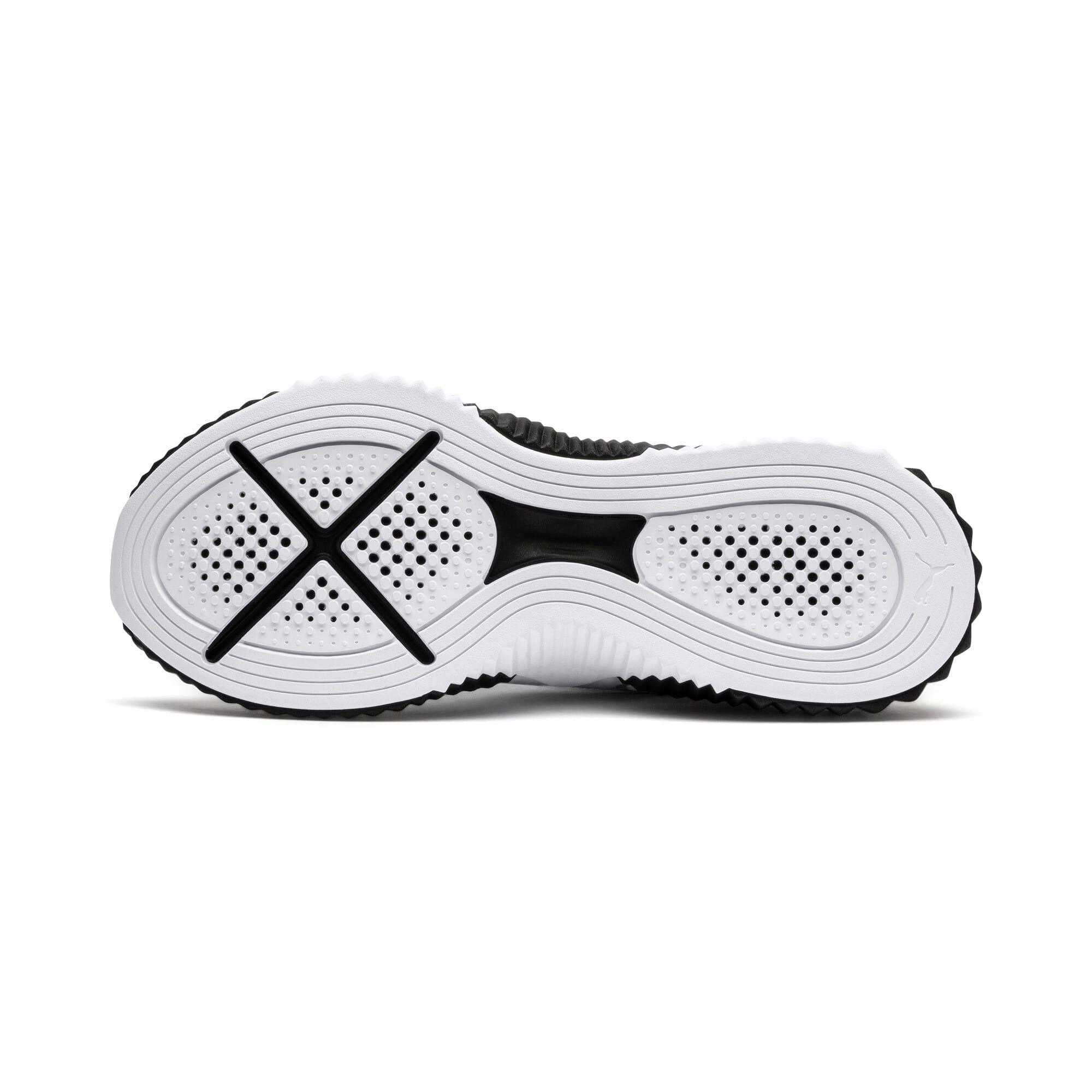 Thumbnail 3 of Defy Damen Sneaker, Puma White-Puma Black, medium