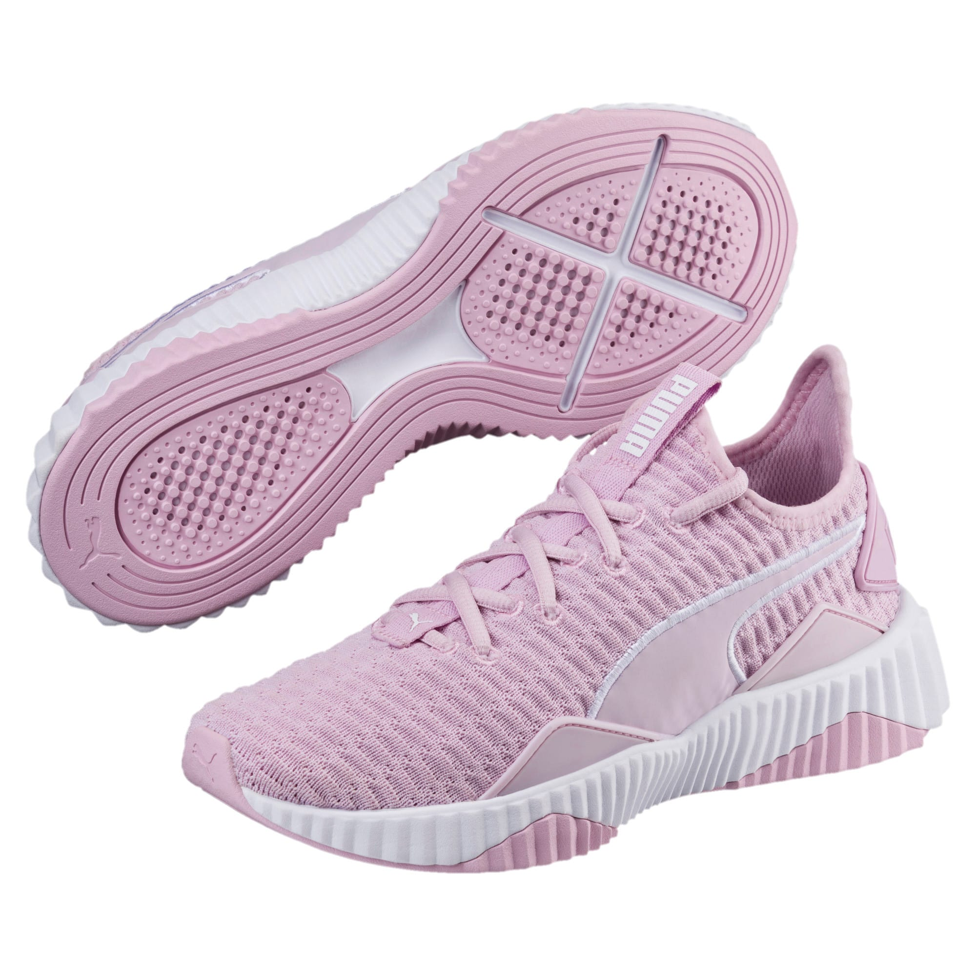 Thumbnail 2 of Defy Women's Training Shoes, Winsome Orchid-Puma White, medium