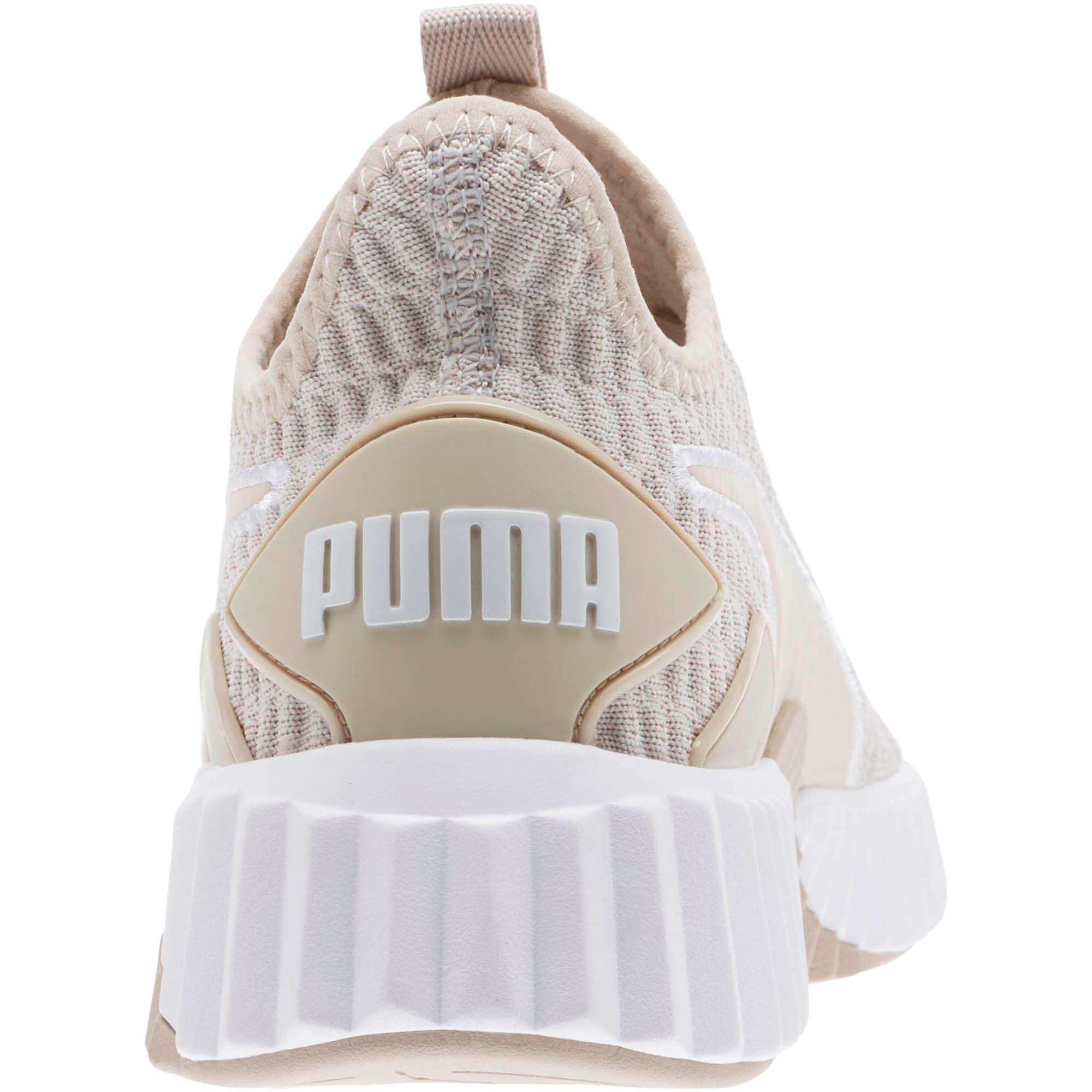 Thumbnail 3 of Defy Women's Training Shoes, Silver Gray-Puma White, medium