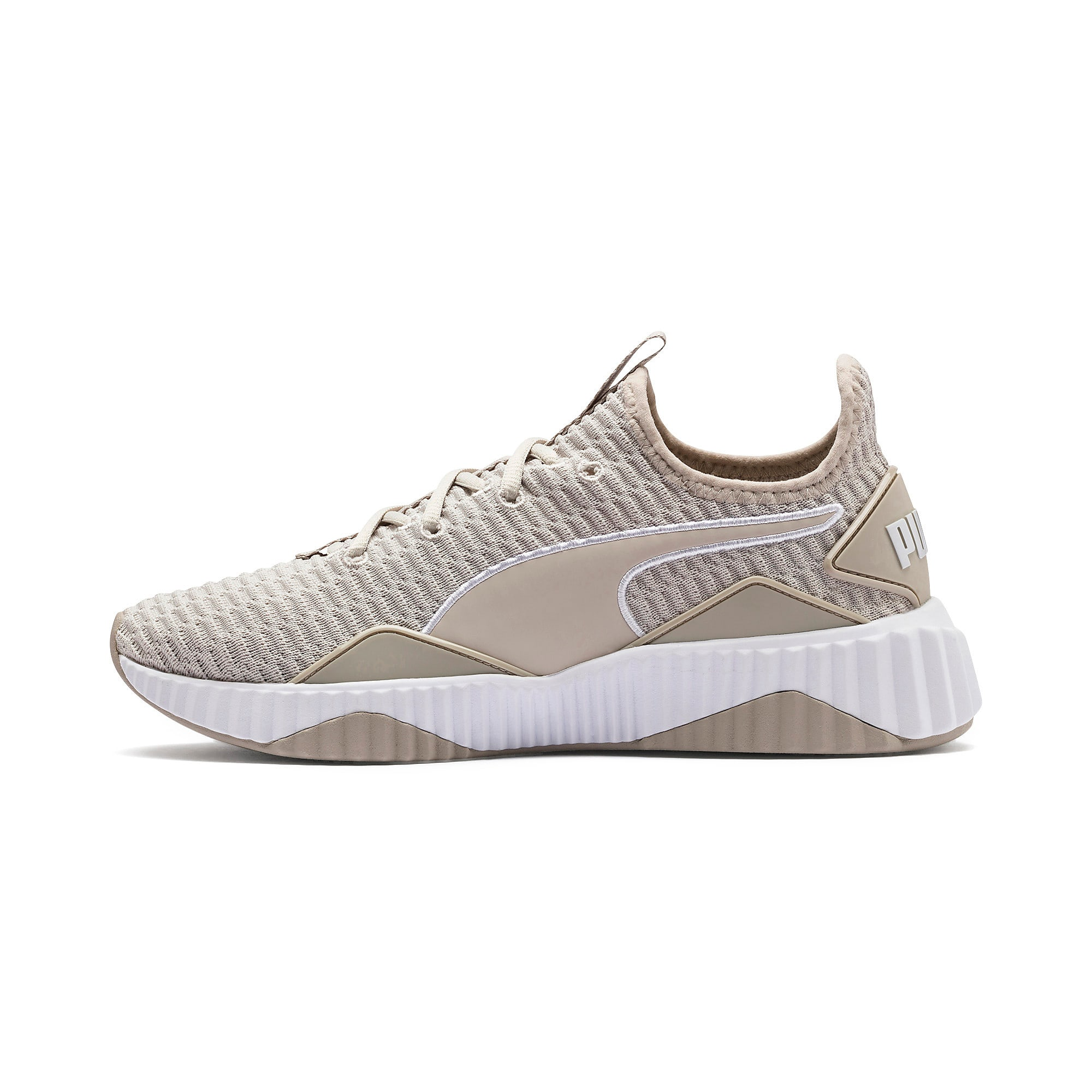 Thumbnail 1 of Defy Women's Training Shoes, Silver Gray-Puma White, medium
