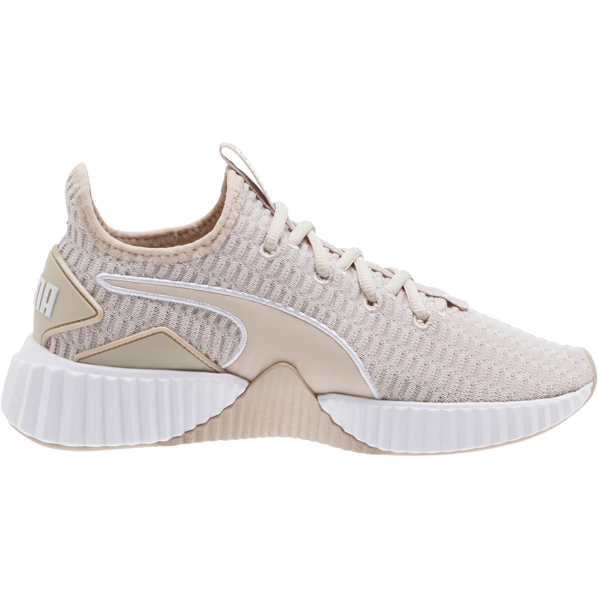 Thumbnail 4 of Defy Women's Training Shoes, Silver Gray-Puma White, medium