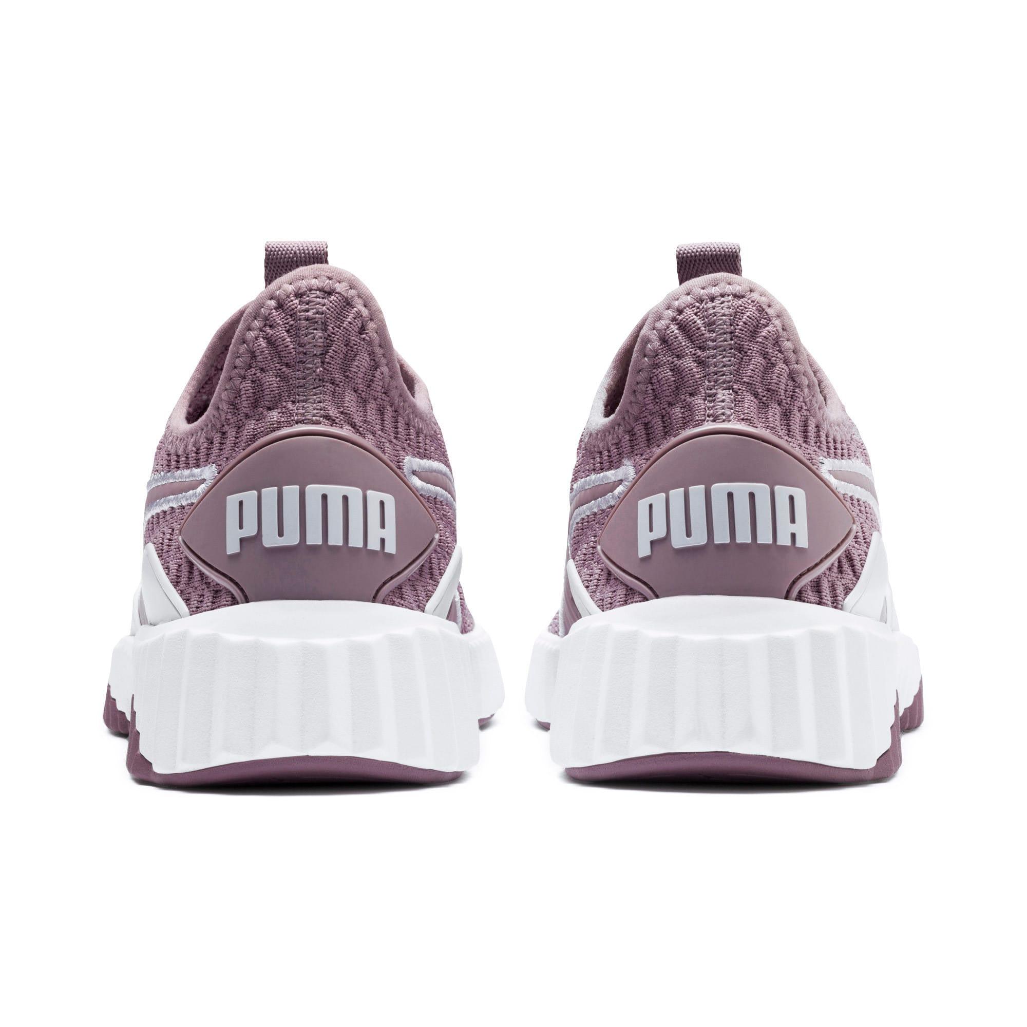 Miniatura 4 de Zapatos de entrenamiento Defy para mujer, Elderberry-Puma White, mediano