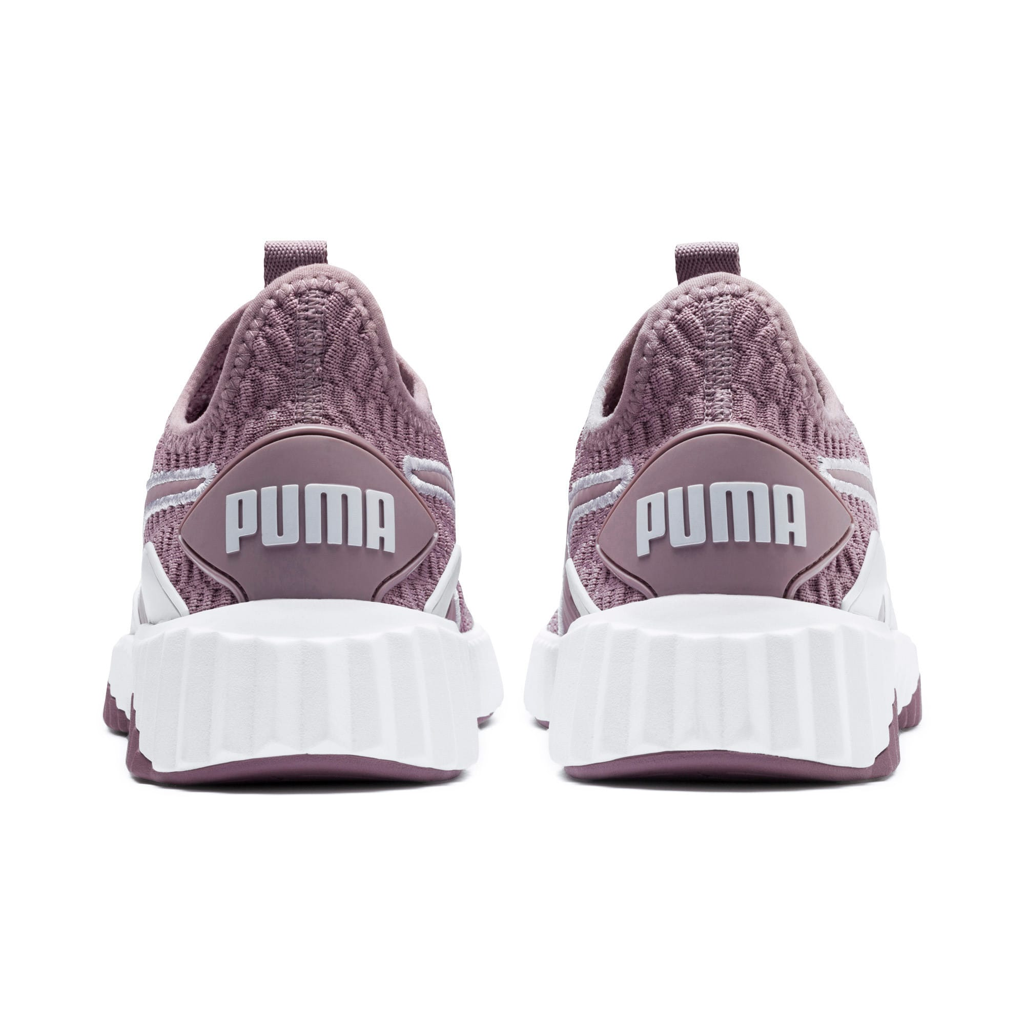 Thumbnail 4 of Defy Women's Training Shoes, Elderberry-Puma White, medium