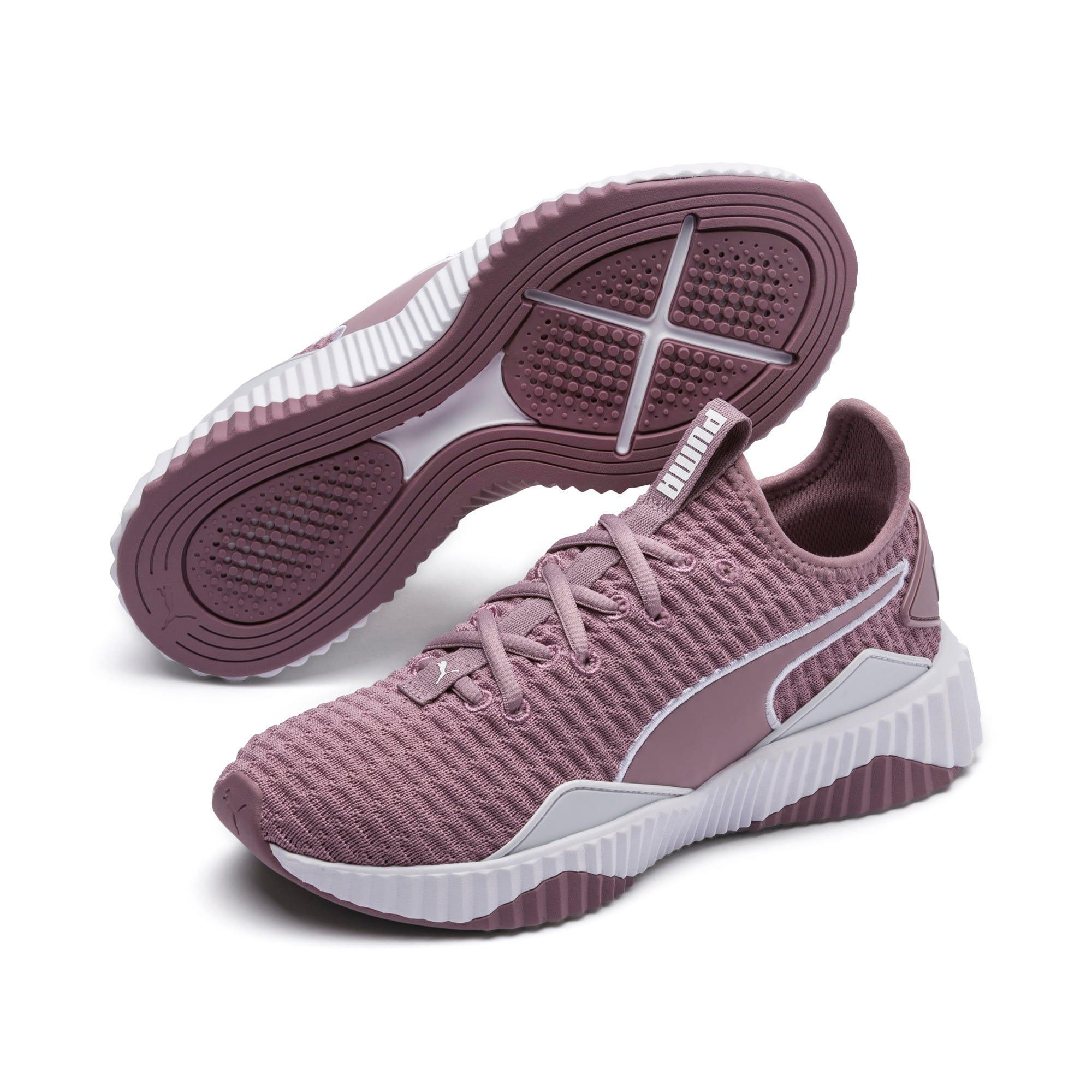Thumbnail 2 of Defy Women's Training Shoes, Elderberry-Puma White, medium