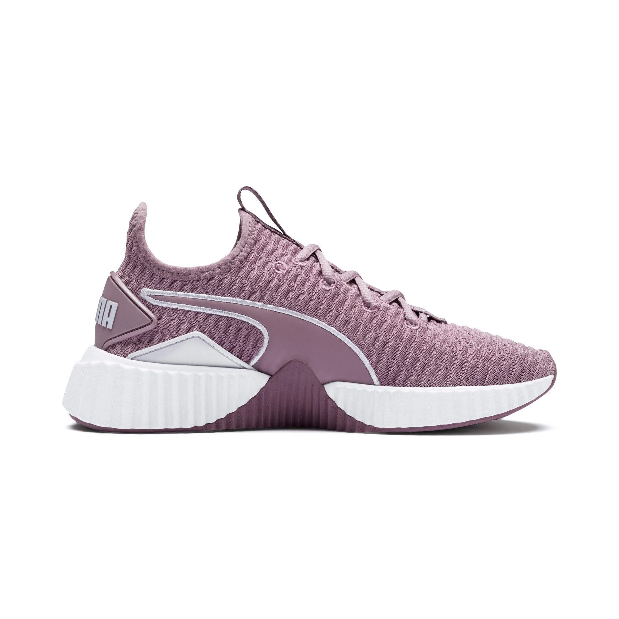 Miniatura 5 de Zapatos de entrenamiento Defy para mujer, Elderberry-Puma White, mediano