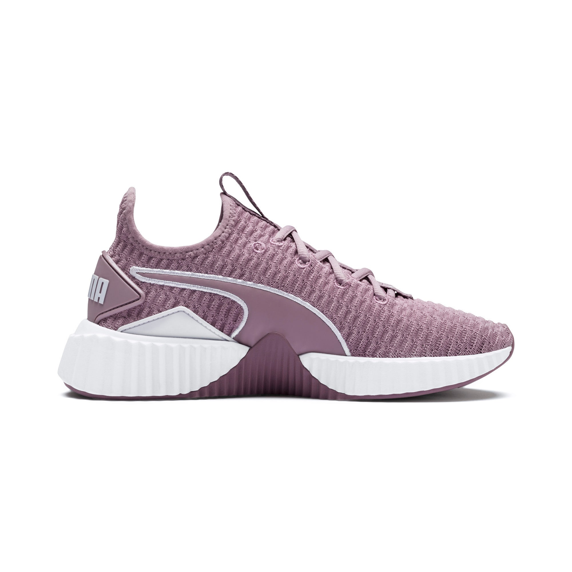 Thumbnail 5 of Defy Women's Training Shoes, Elderberry-Puma White, medium
