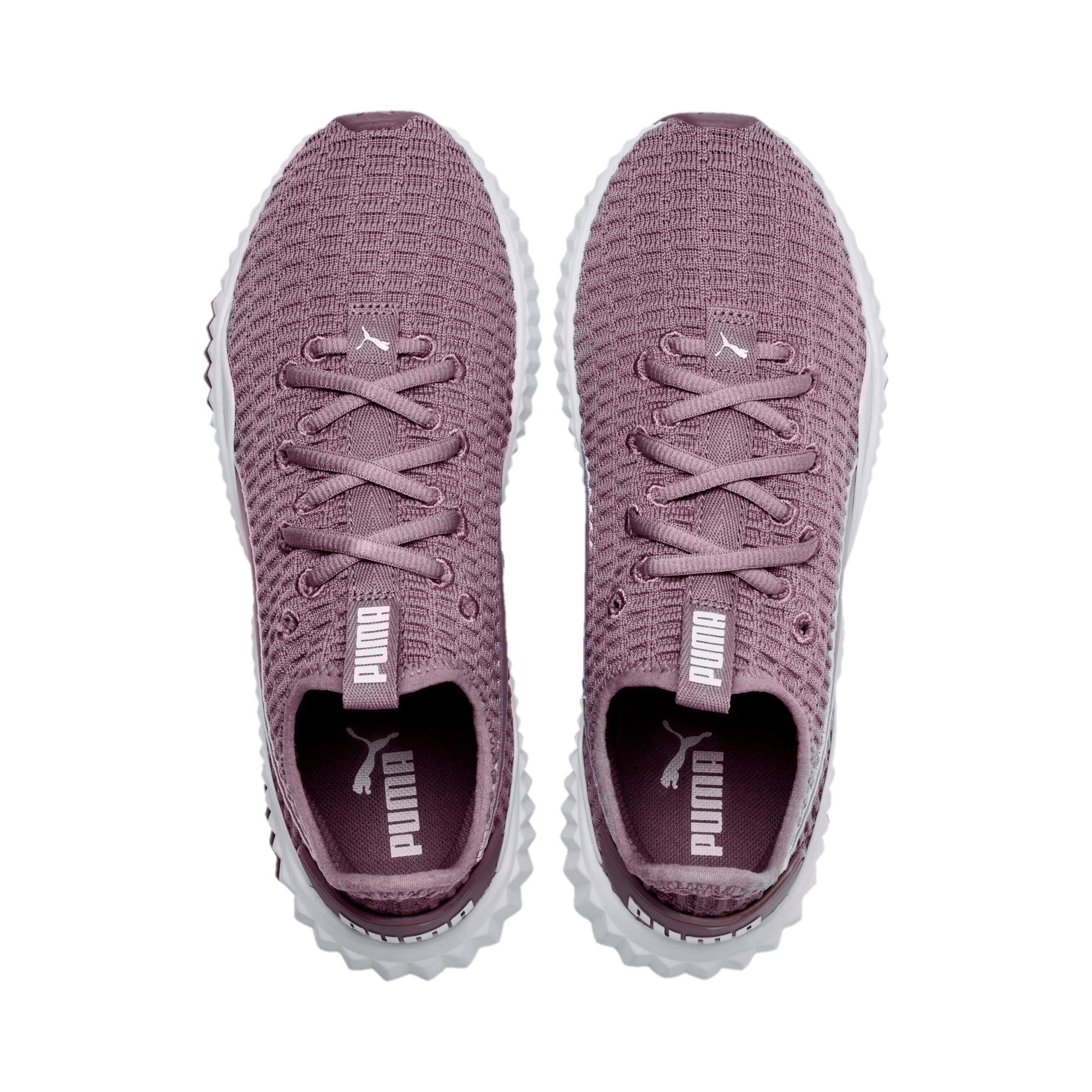 Miniatura 6 de Zapatos de entrenamiento Defy para mujer, Elderberry-Puma White, mediano