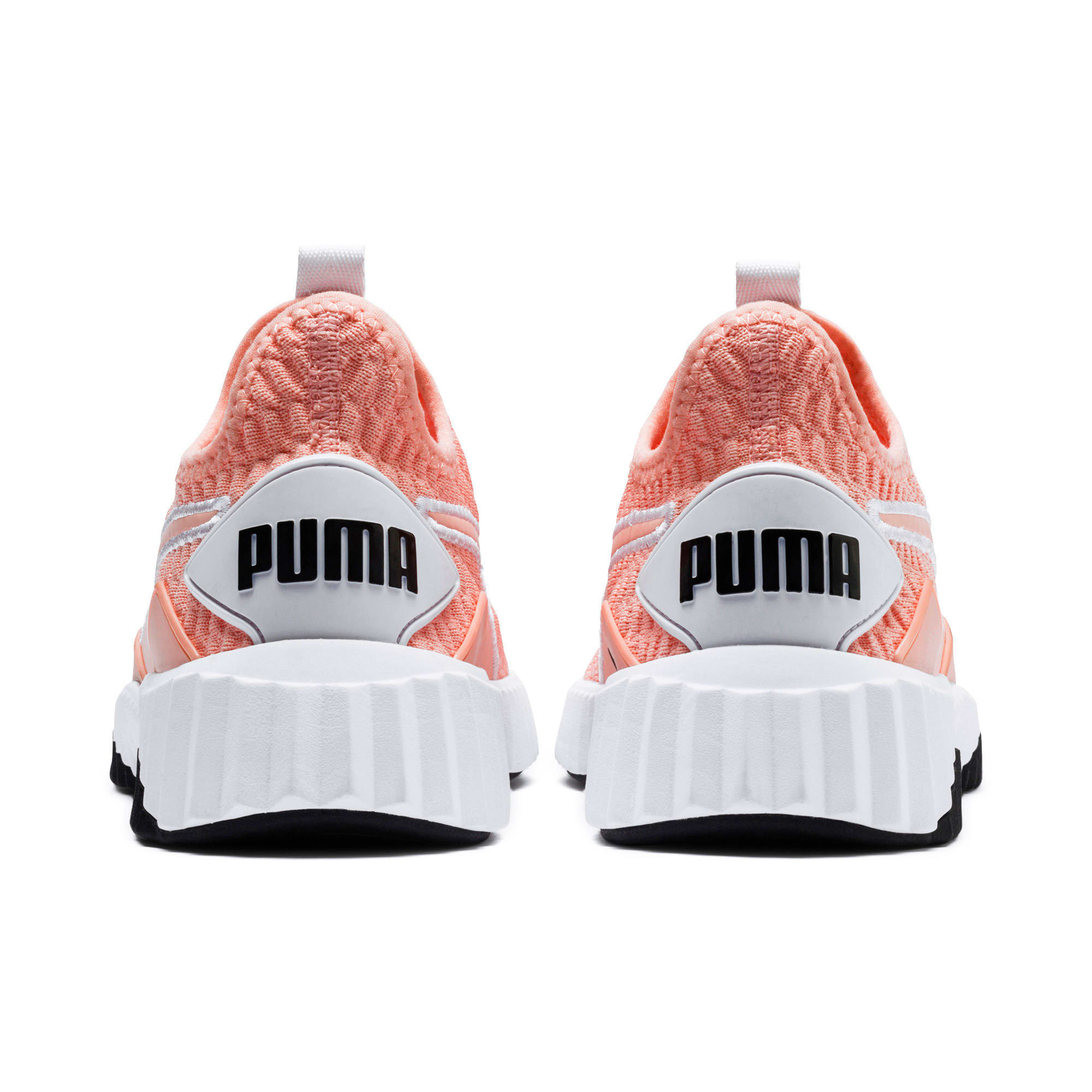 Thumbnail 4 of Defy Women's Training Shoes, Peach Bud-Puma White, medium