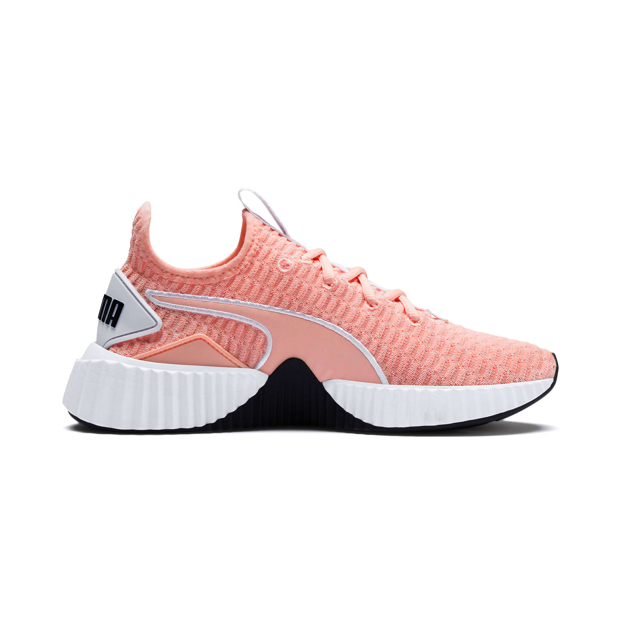 Thumbnail 6 of Defy Women's Training Shoes, Peach Bud-Puma White, medium