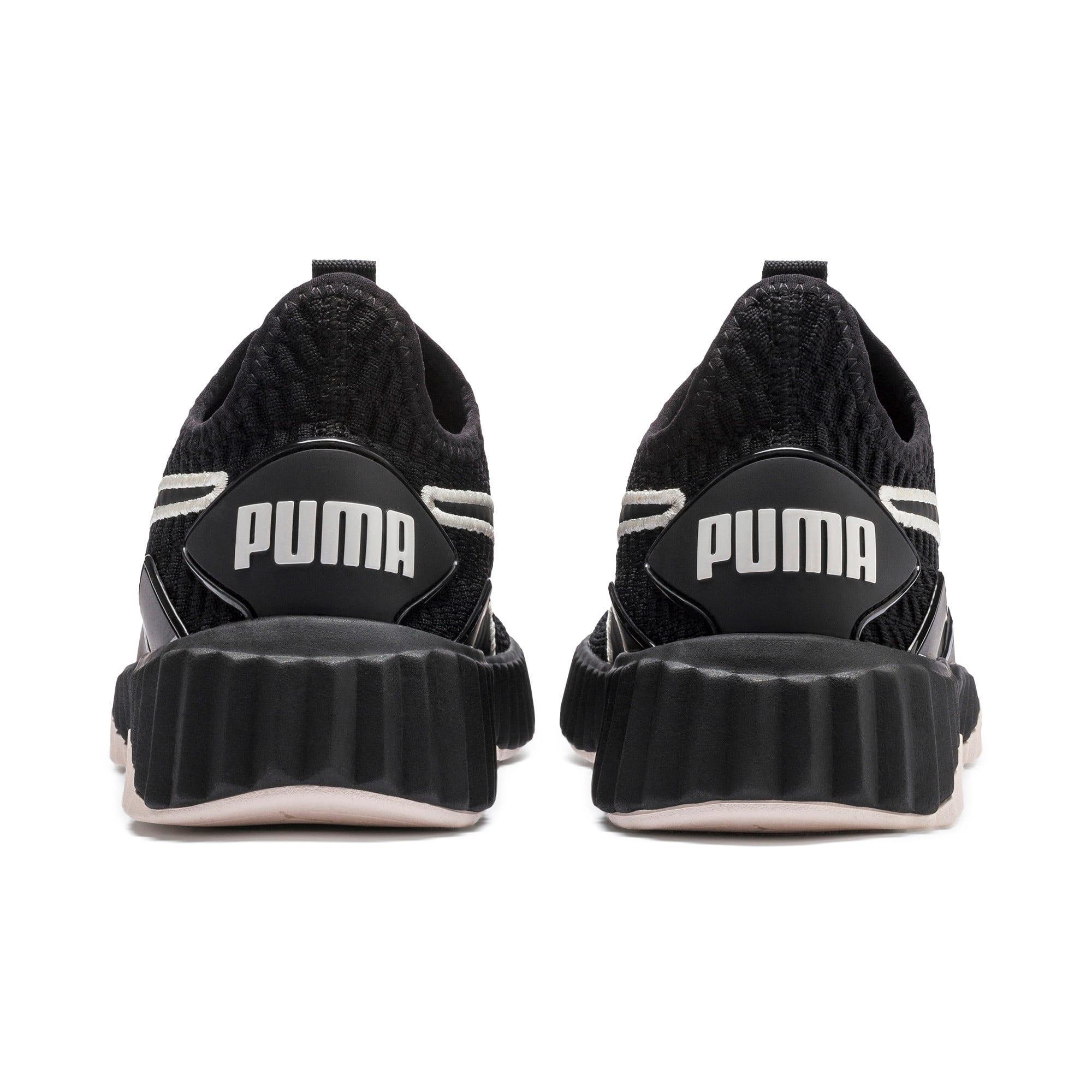 Miniatura 4 de Zapatos de entrenamiento Defy para mujer, Puma Black-Pastel Parchment, mediano