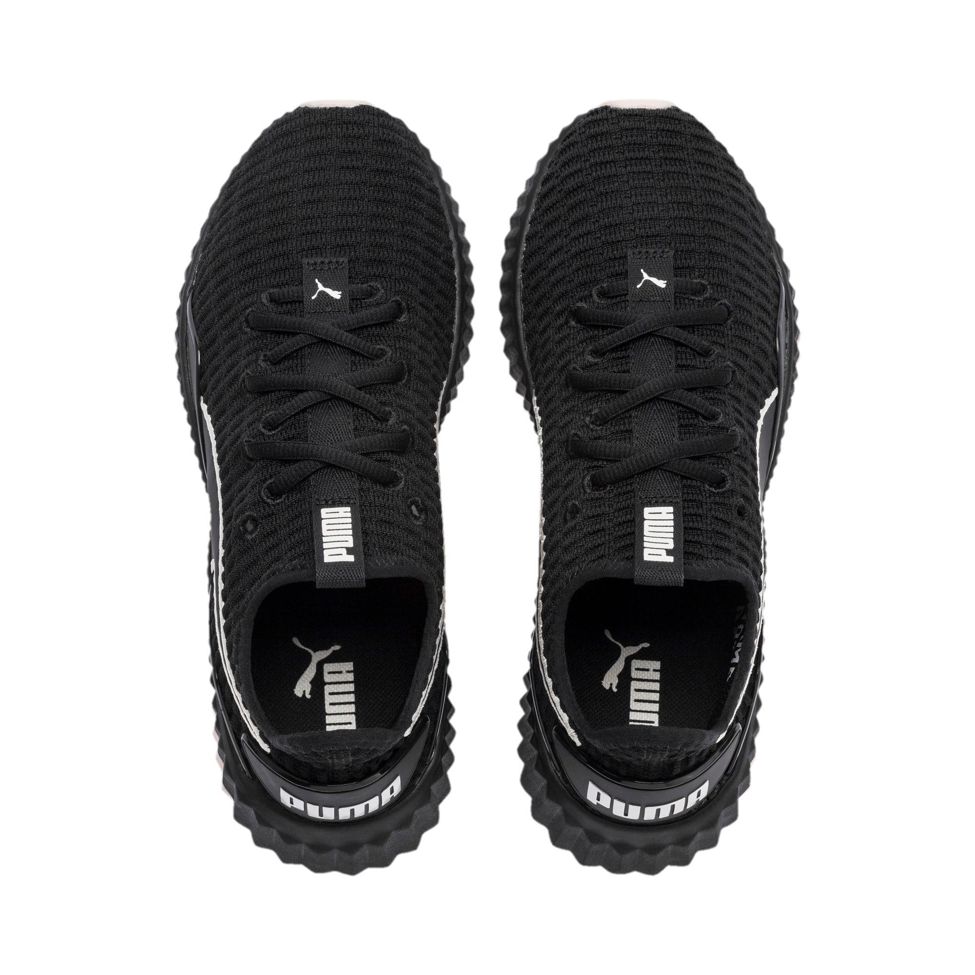 Miniatura 7 de Zapatos de entrenamiento Defy para mujer, Puma Black-Pastel Parchment, mediano