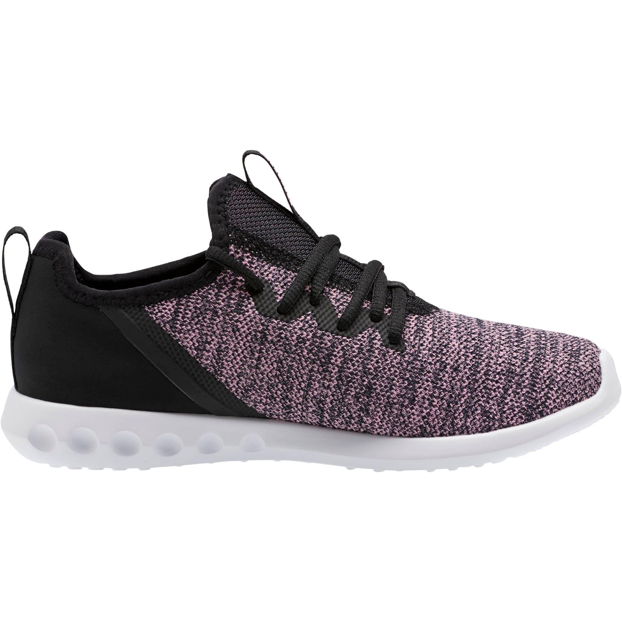 Thumbnail 5 of Carson 2 X Knit Women's Running Shoes, Puma Black-Orchid, medium