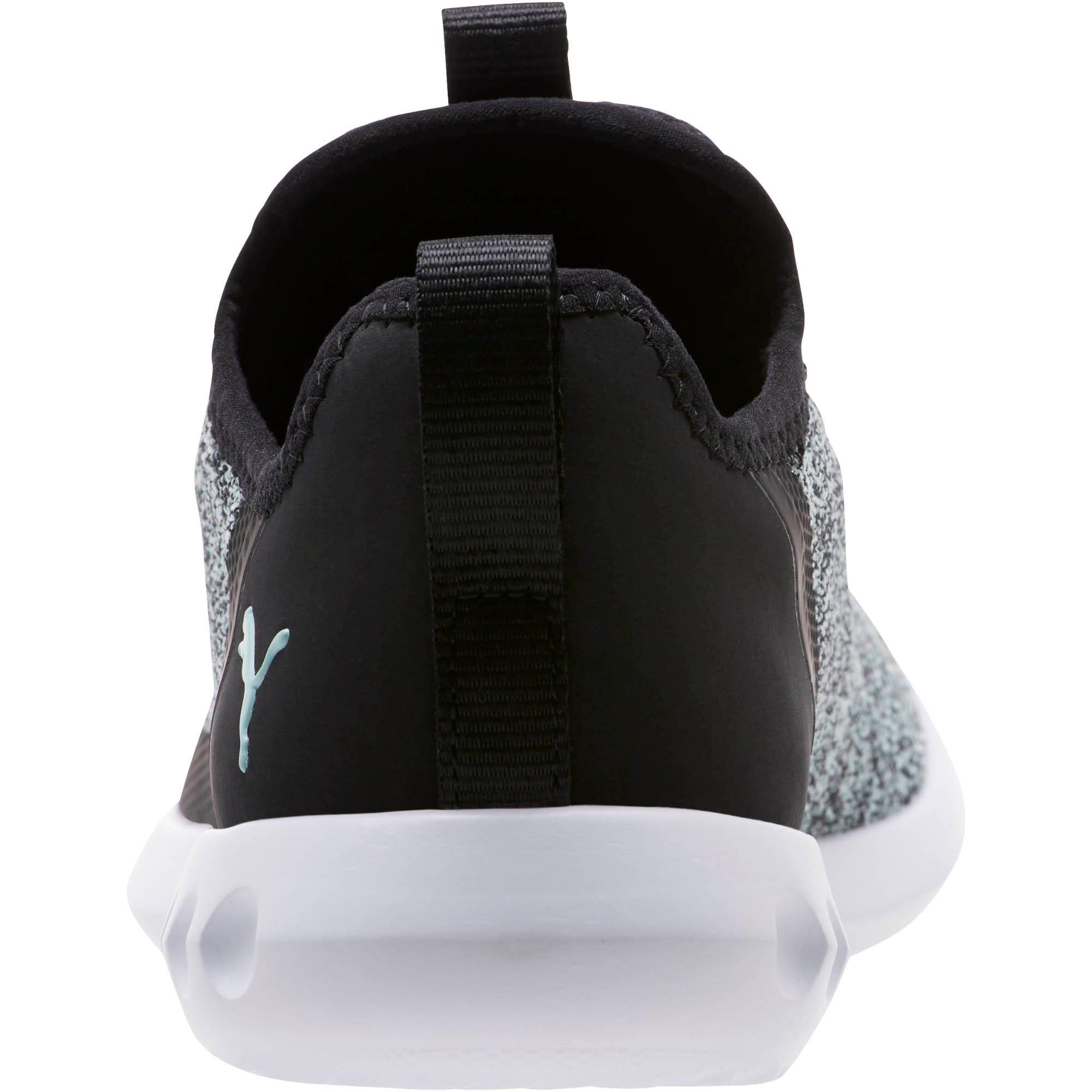 Thumbnail 4 of Carson 2 X Knit Women's Running Shoes, Puma Black-Fair Aqua, medium