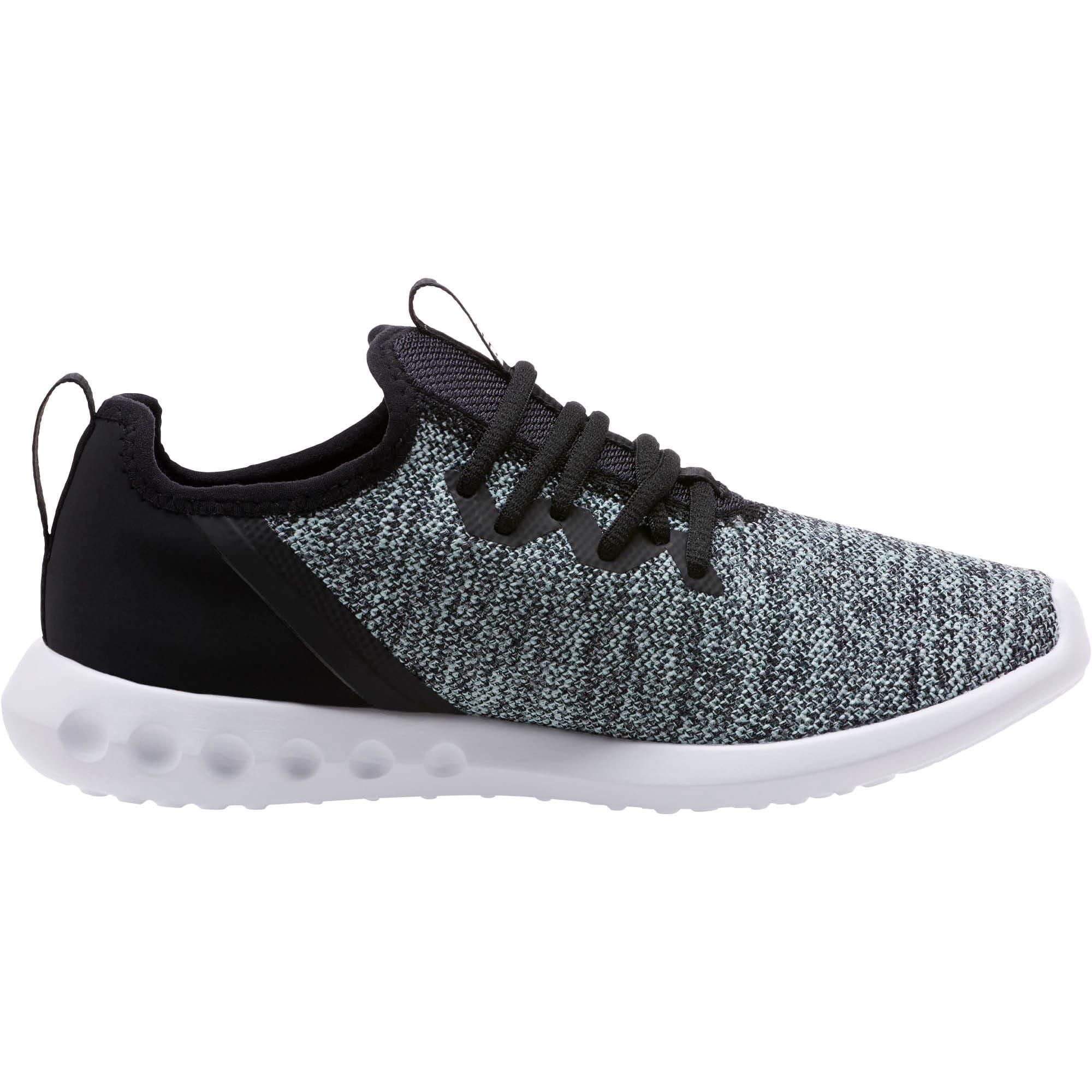 Thumbnail 3 of Carson 2 X Knit Women's Running Shoes, Puma Black-Fair Aqua, medium