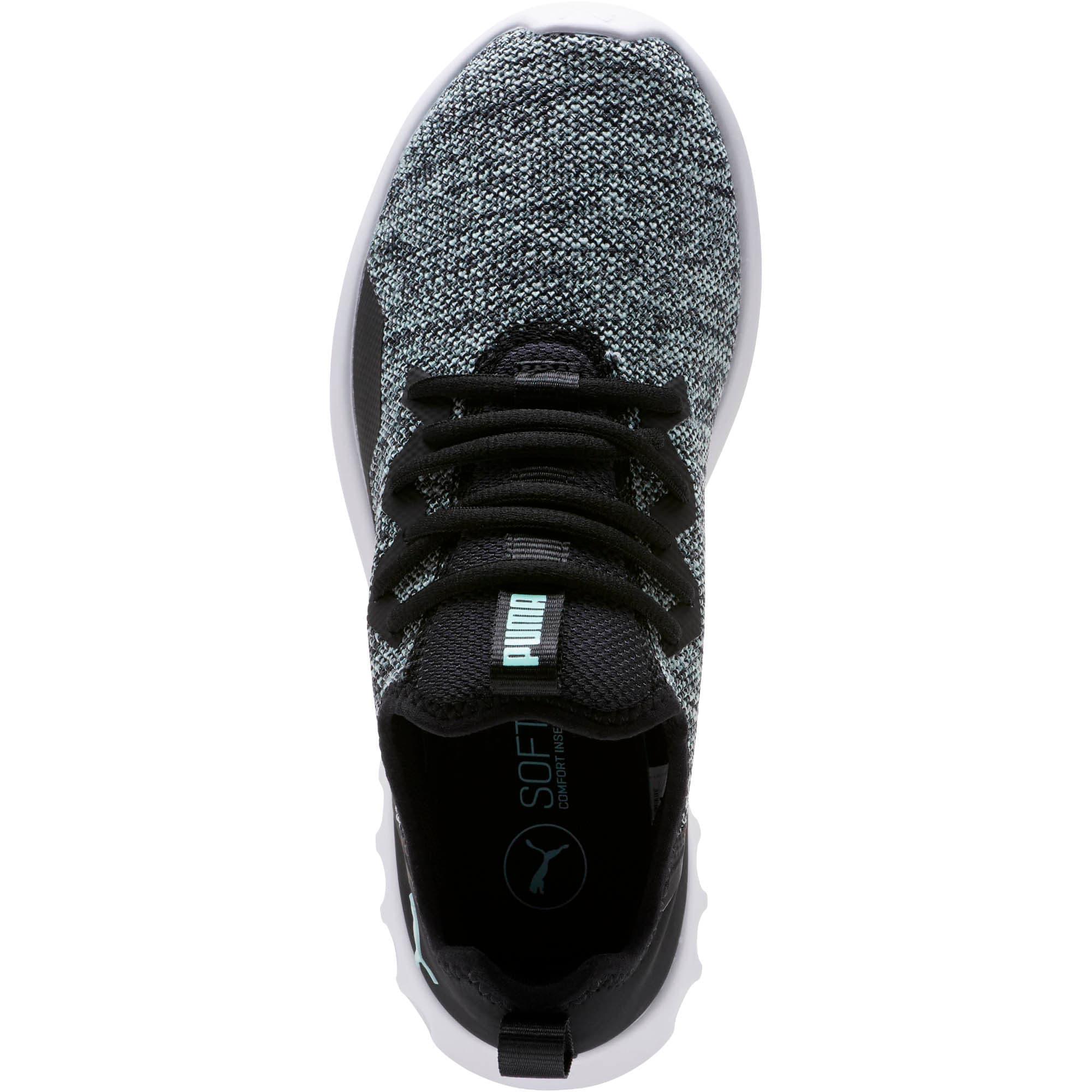 Thumbnail 5 of Carson 2 X Knit Women's Running Shoes, Puma Black-Fair Aqua, medium