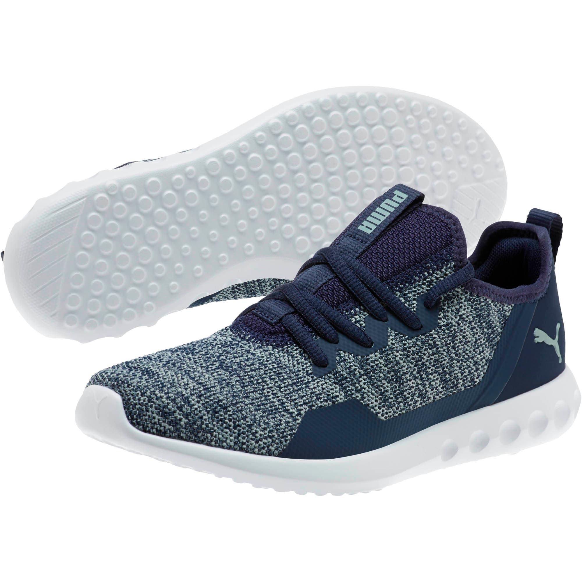 Thumbnail 2 of Carson 2 X Knit Women's Running Shoes, Peacoat-Quarry, medium