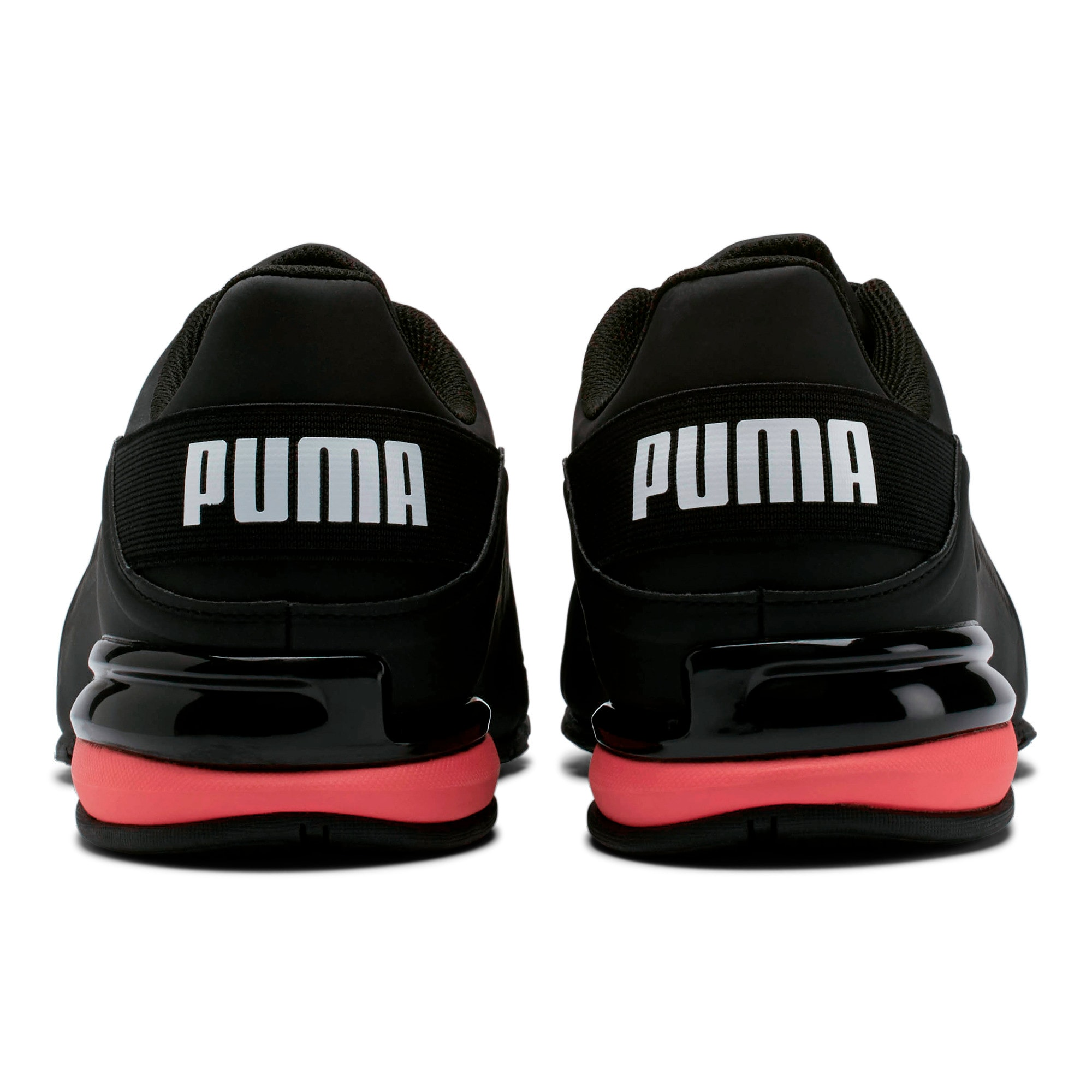 Thumbnail 4 of Viz Runner Men's Running Shoes, Puma Black-Puma White, medium