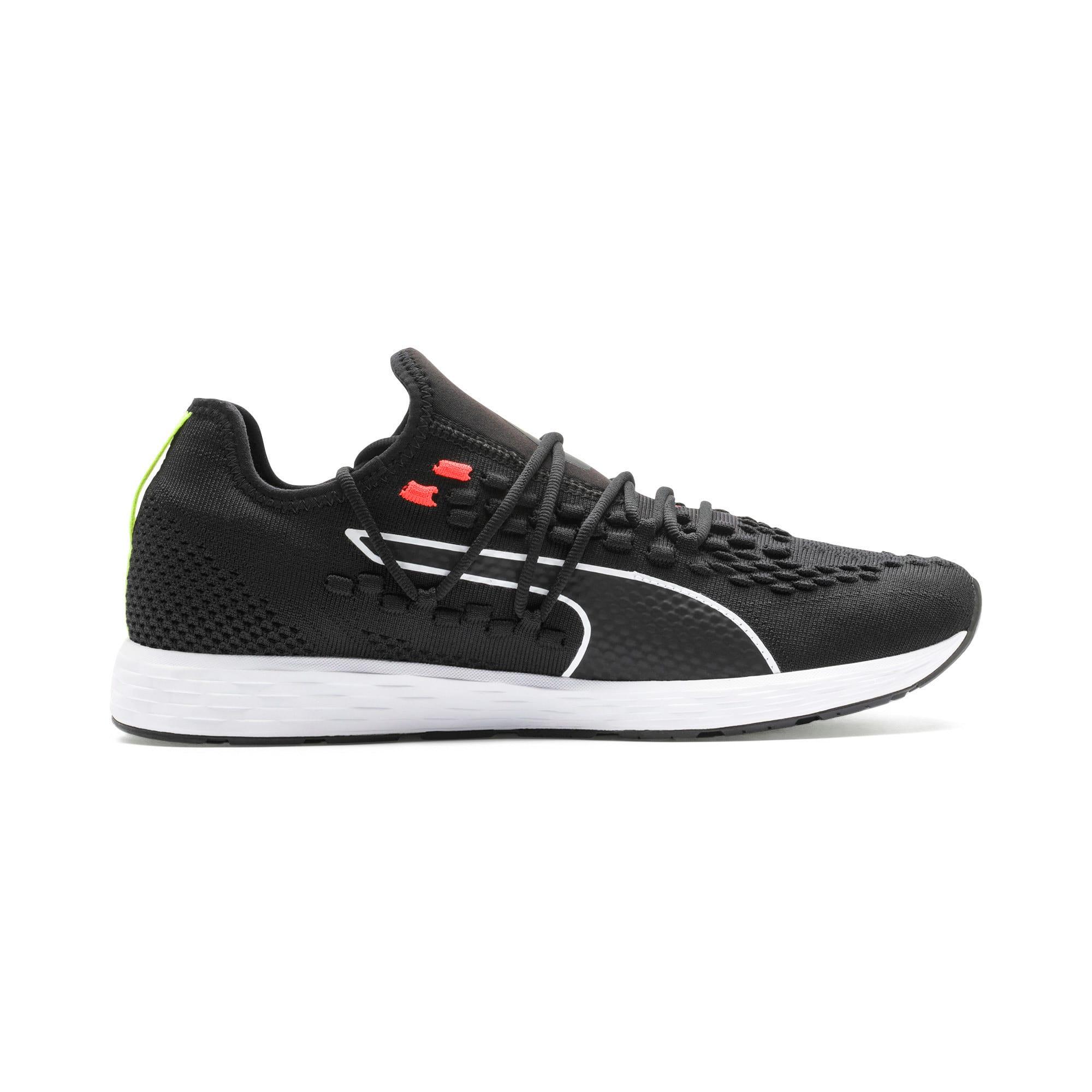 Thumbnail 6 of SPEED RACER Running Shoes, Black-Nrgy Red-Yellow Alert, medium