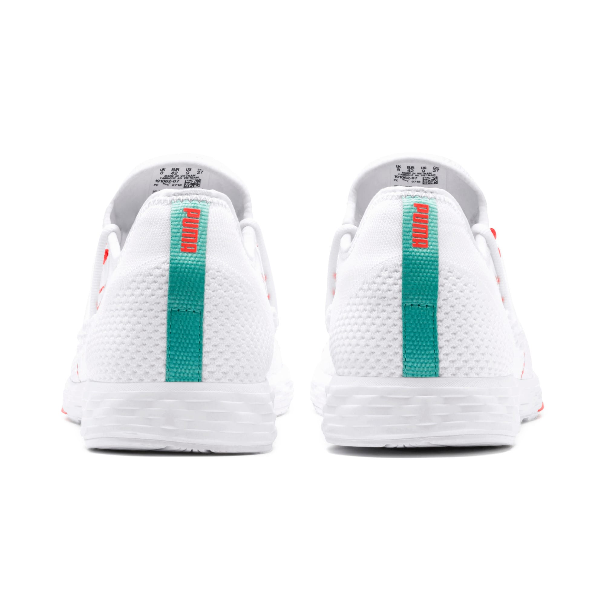 Thumbnail 4 of SPEED RACER Running Shoes, White-Nrgy Red-Turquoise, medium