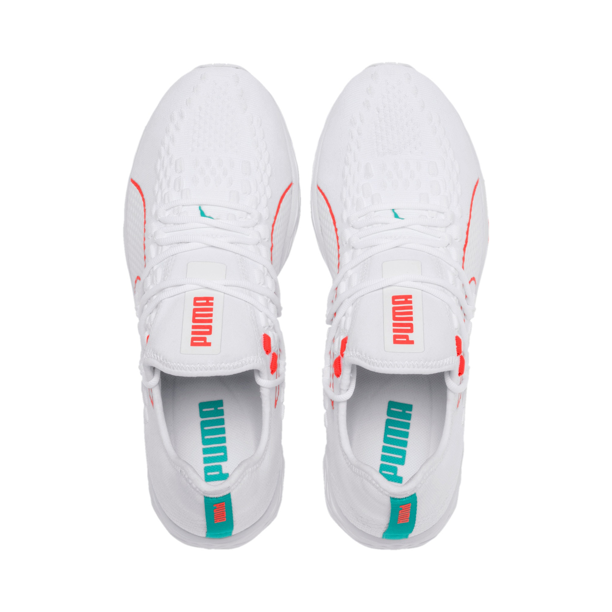 Thumbnail 7 of SPEED RACER Running Shoes, White-Nrgy Red-Turquoise, medium