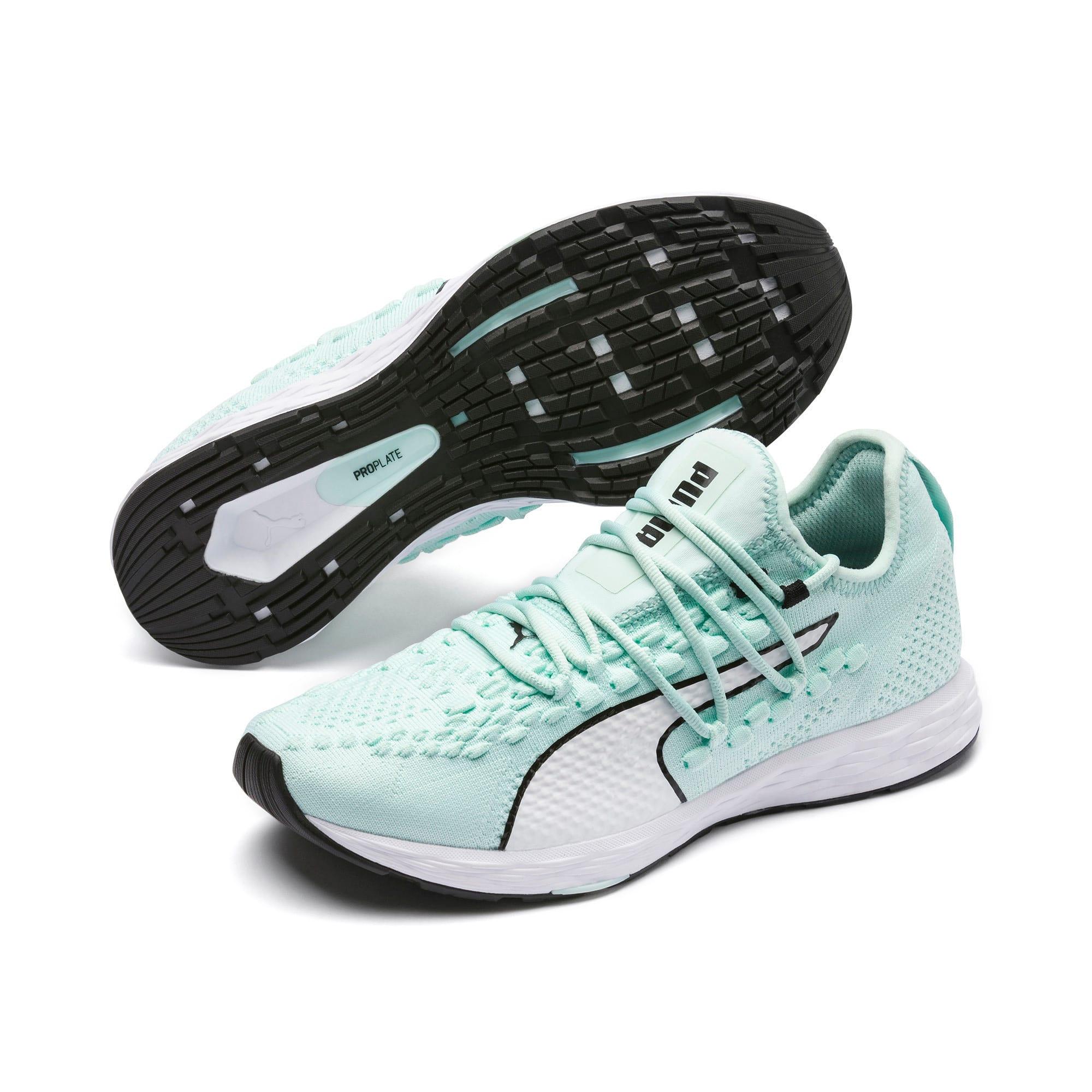 Thumbnail 2 of SPEED 300 RACER Women's Running Shoes, Fair Aqua-White-Black, medium
