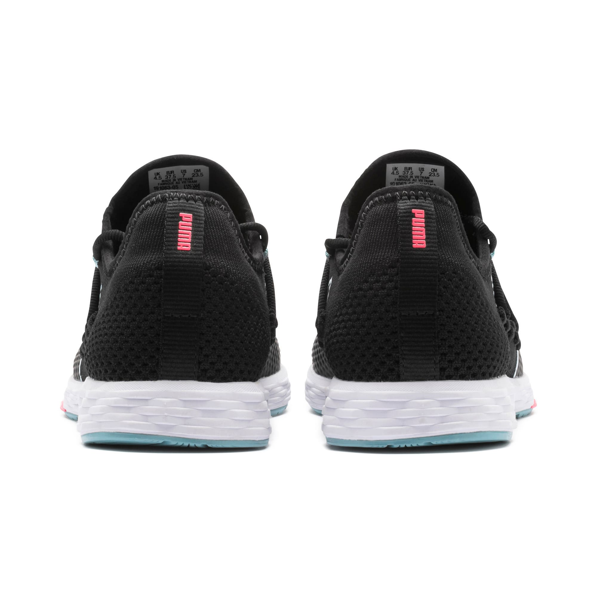 Thumbnail 4 of SPEED RACER Women's Running Shoes, Black-Milky Blue-Pink Alert, medium