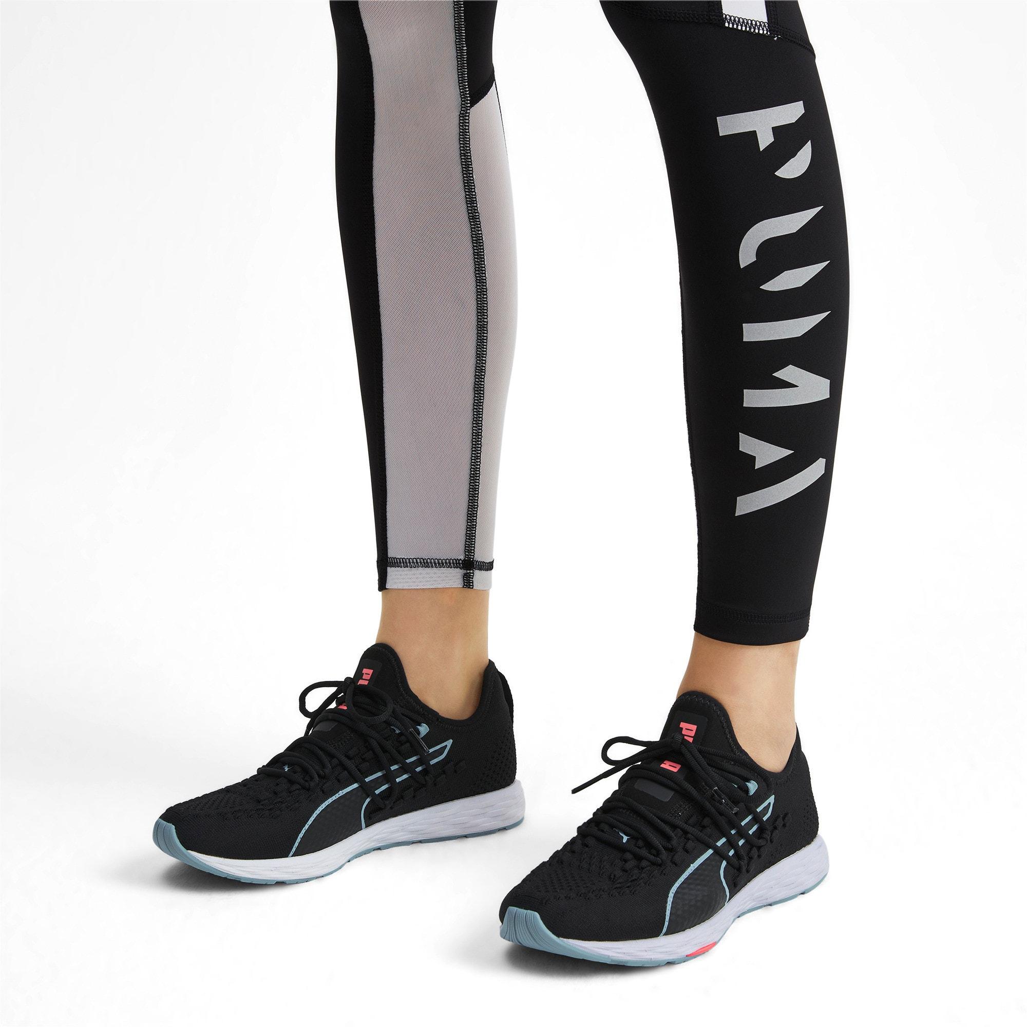 Thumbnail 2 of SPEED RACER Women's Running Shoes, Black-Milky Blue-Pink Alert, medium